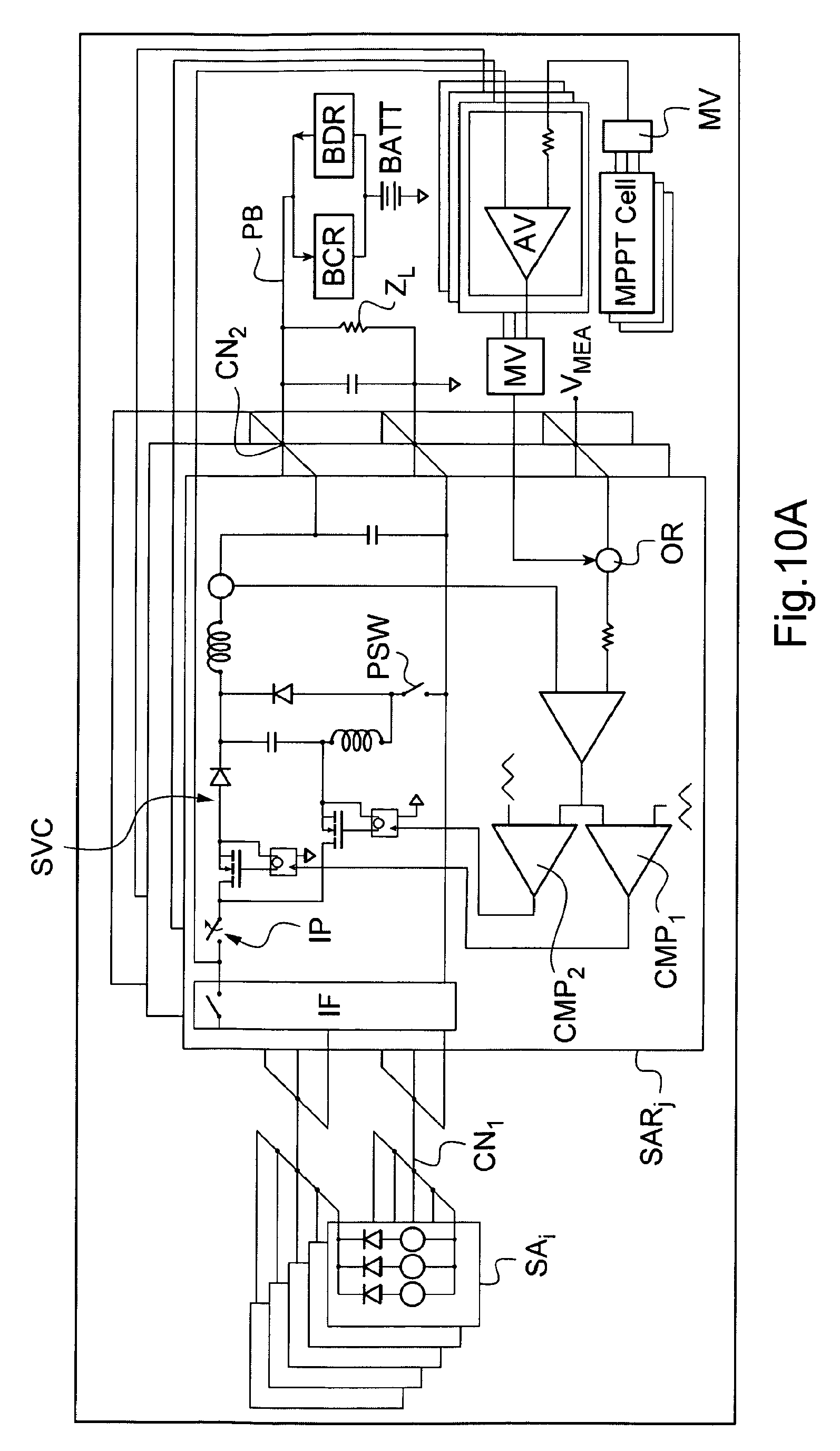 Patent Ep2267572a1 Solar Array Regulator Based On Step Up And Down Mppt Circuit Diagram Drawing