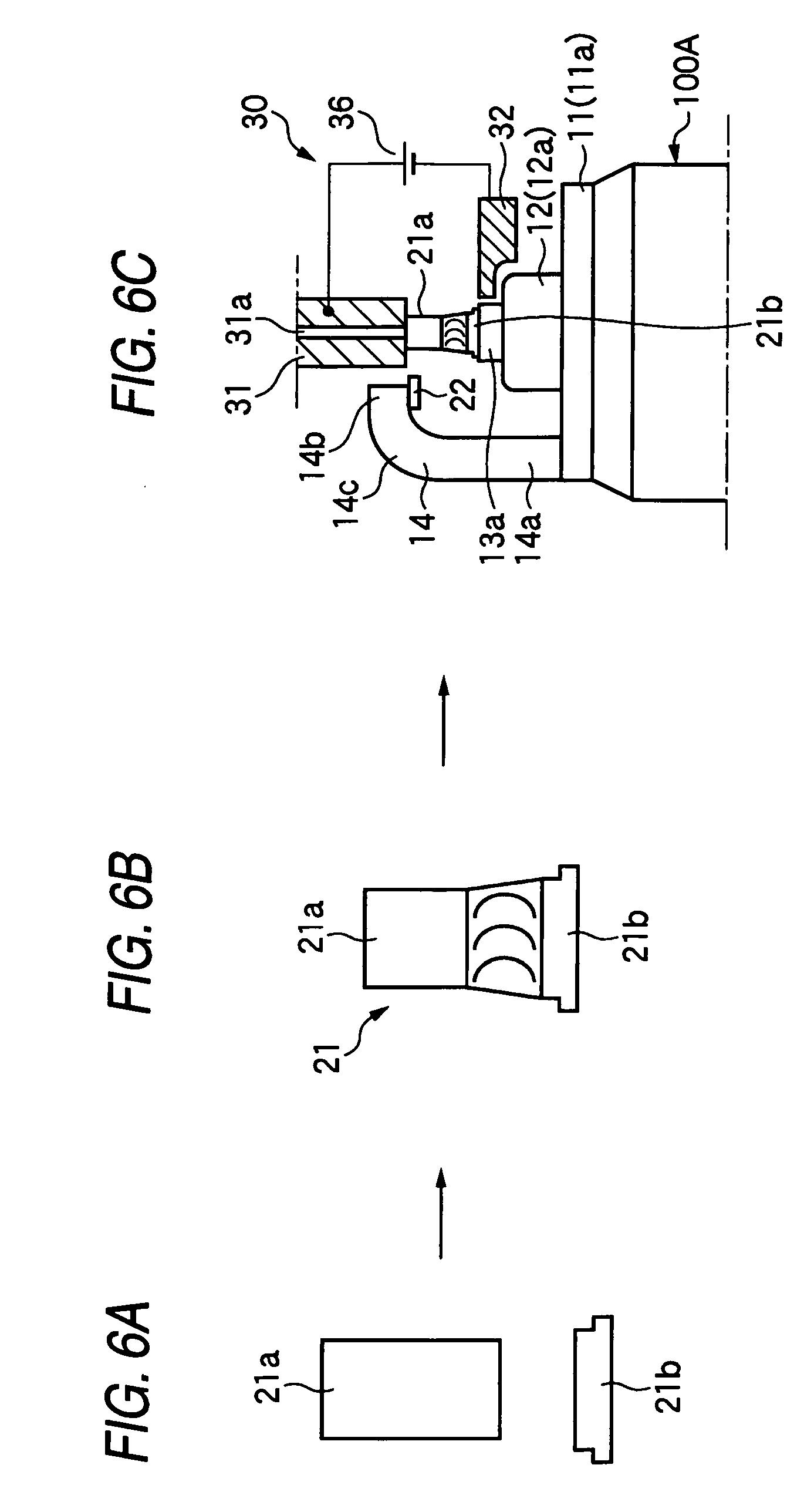 method of manufacturing spark plug