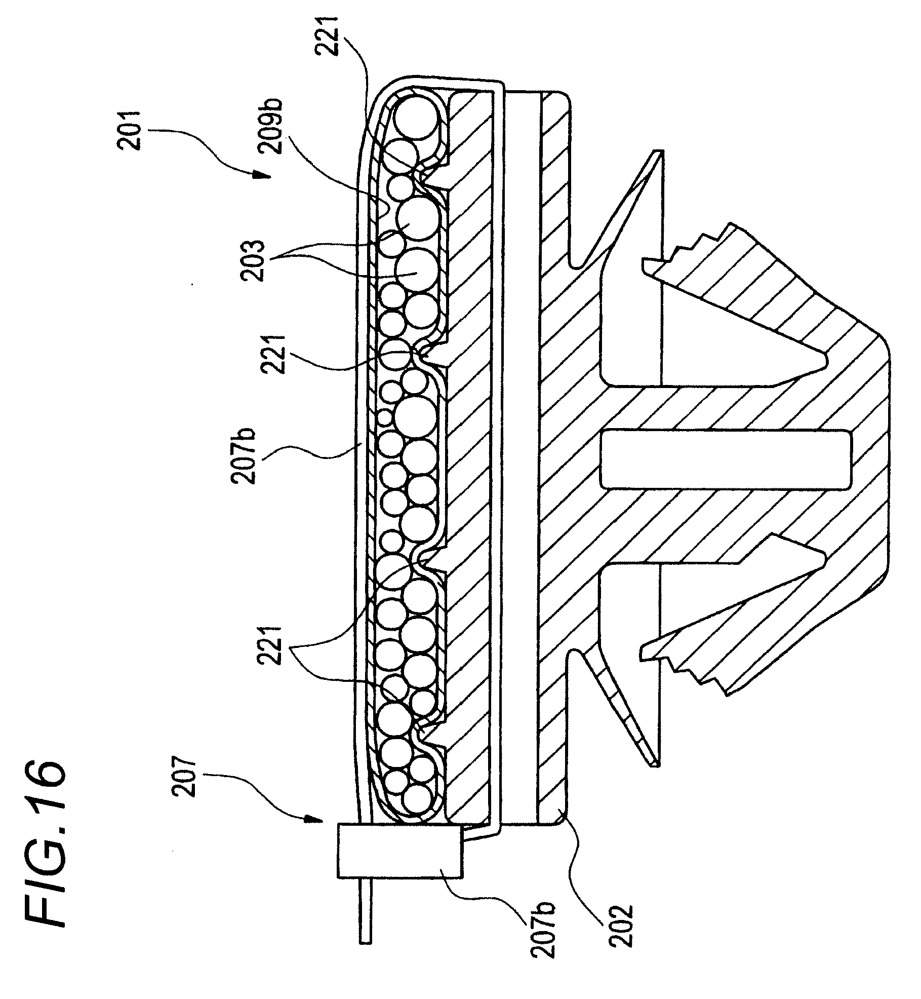 patent ep2302749a1 - wire harness routing structure and wire harness flattening band