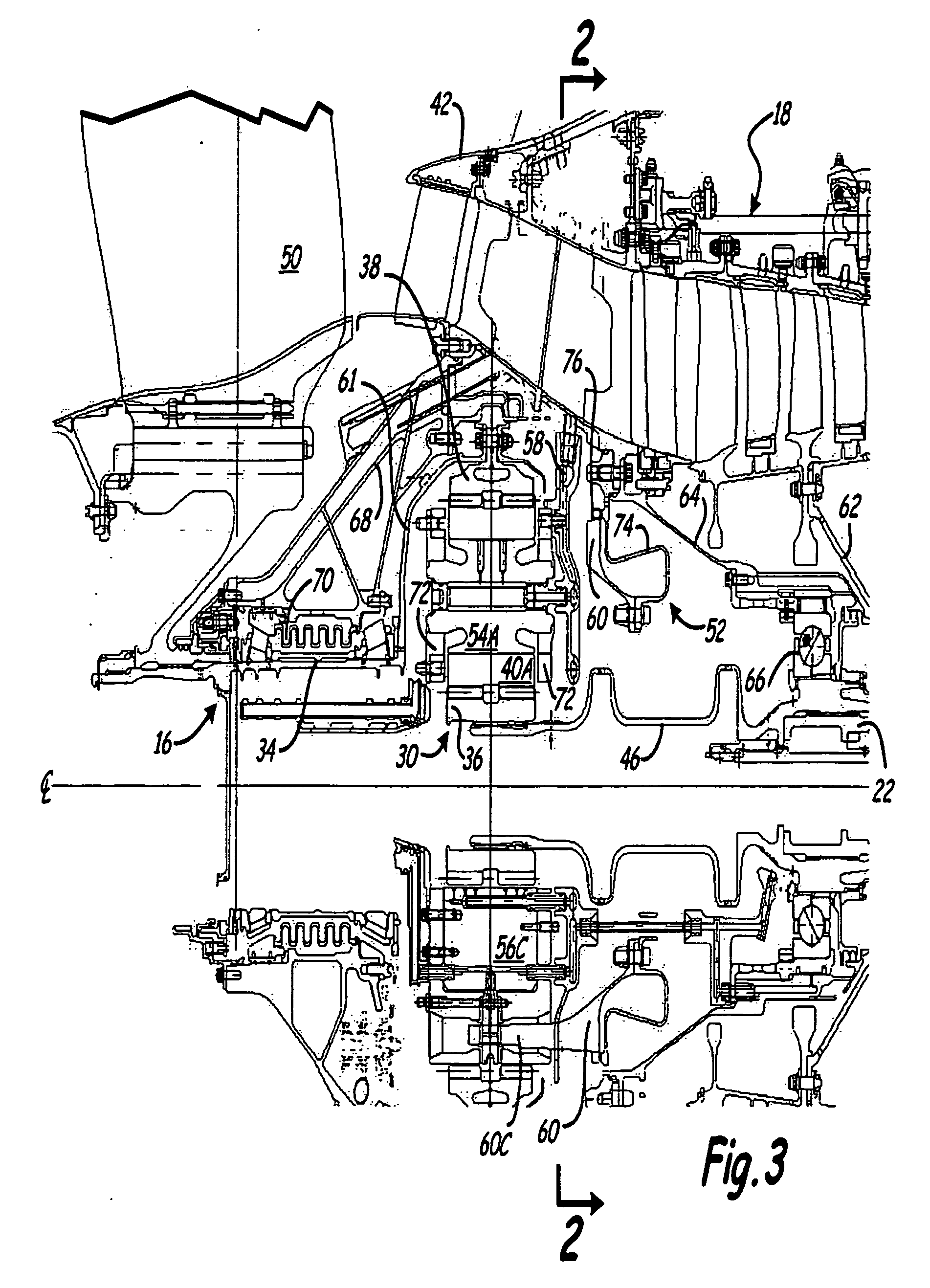 patent ep2339146b1 - coupling system for a star gear train in a gas turbine engine