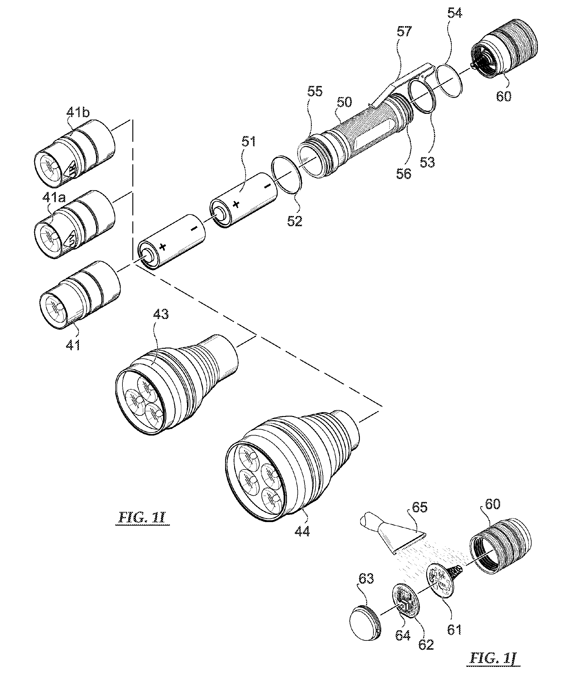 patent ep2345864a2 - smart tactical flashlight