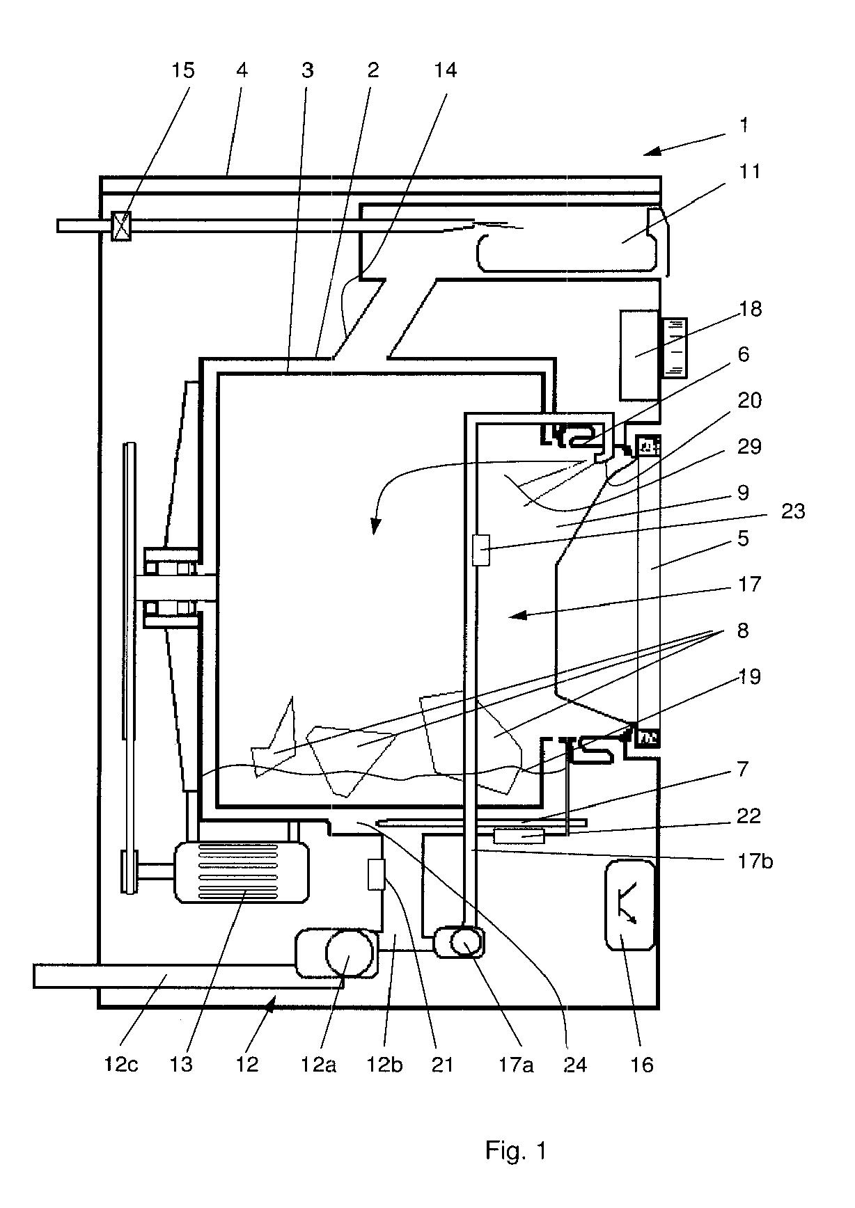 patent ep2348151a1 verfahren zum betreiben einer waschmaschine mit umfluteinrichtung und. Black Bedroom Furniture Sets. Home Design Ideas