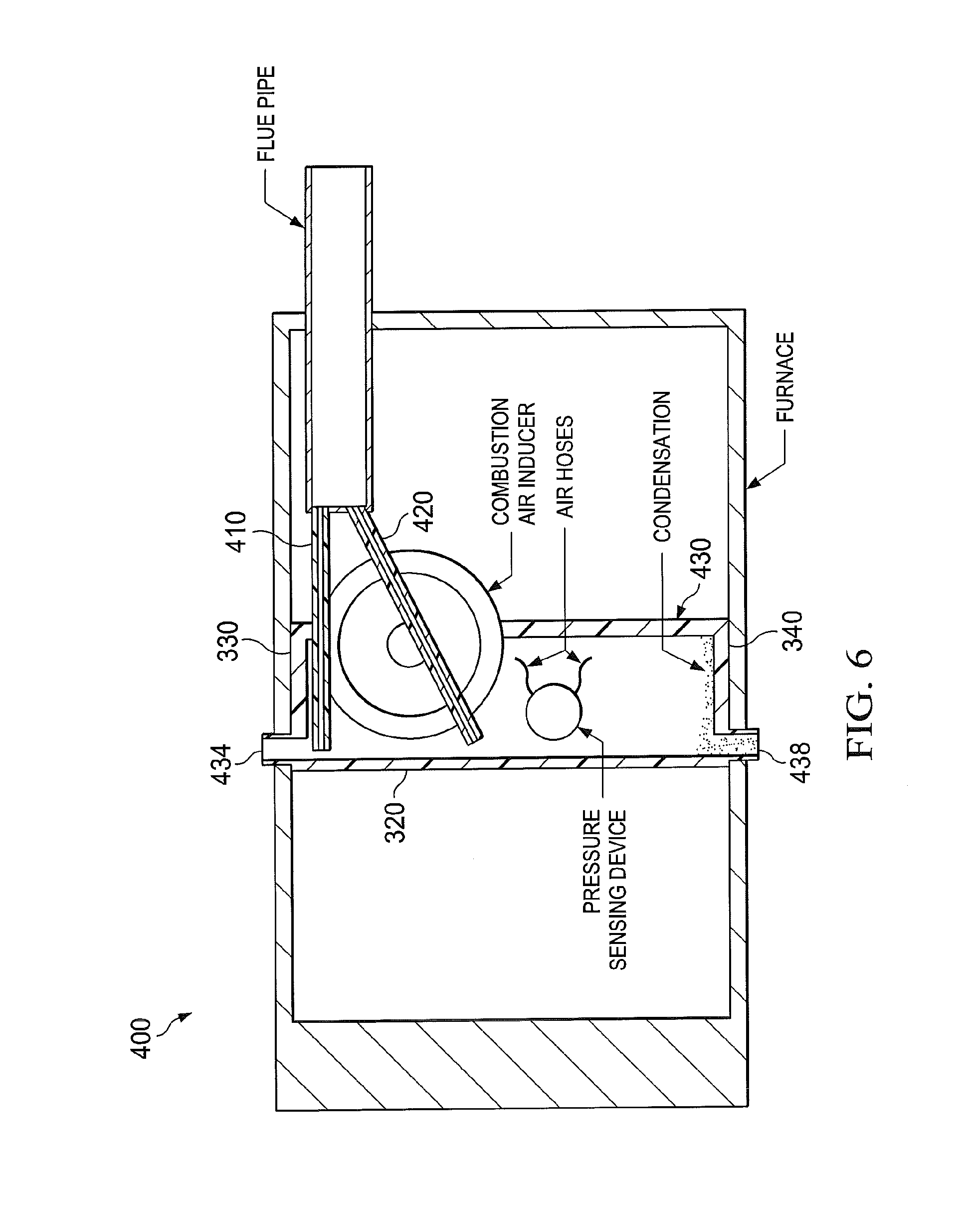 Patent Ep2354707a2 A Condensation Management System Furnace Hvac Isometric Drawing