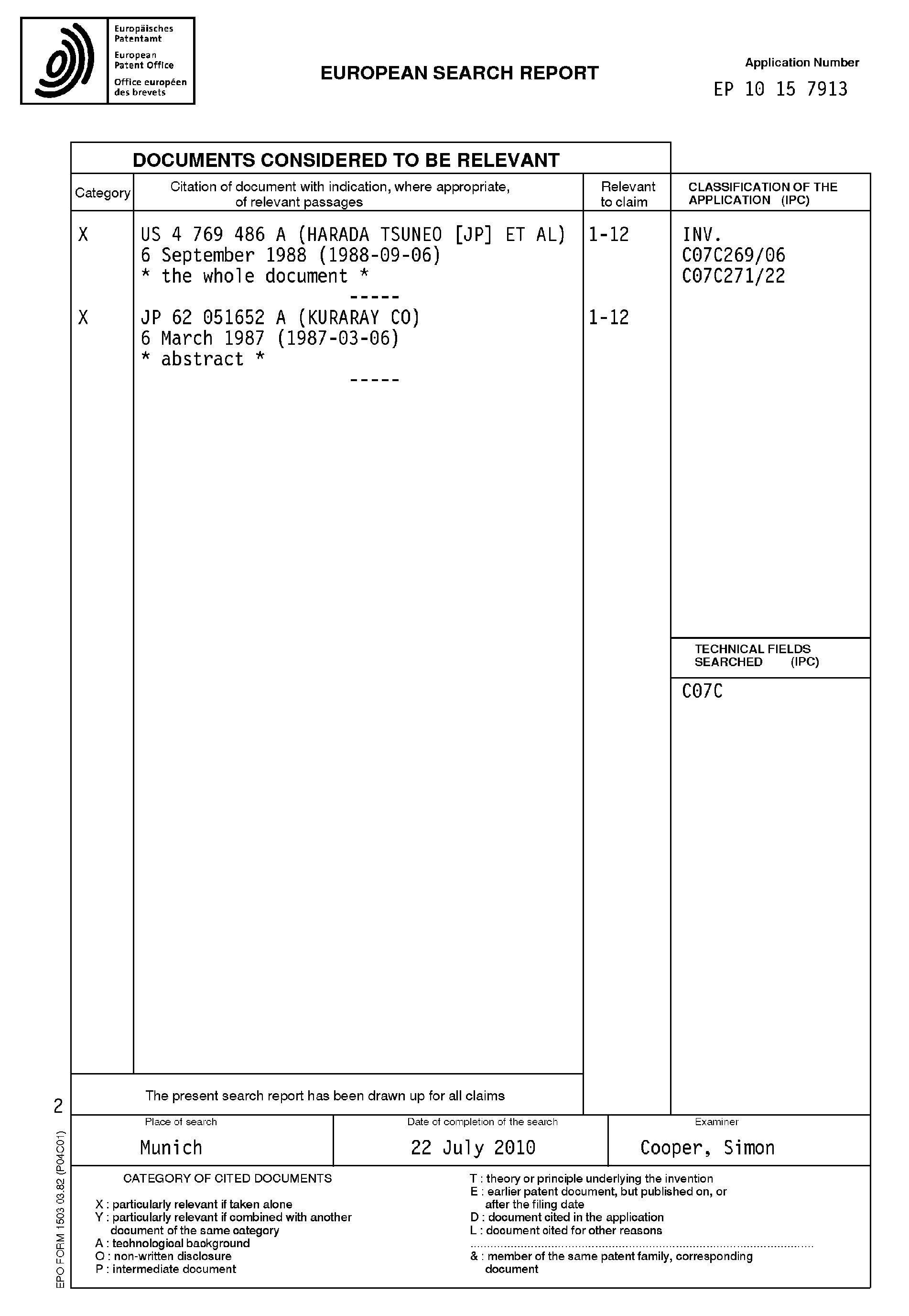 Patent EP2368874A1 - Racemisation of (R)-N-Boc-3-hydroxyadamant-1 ...
