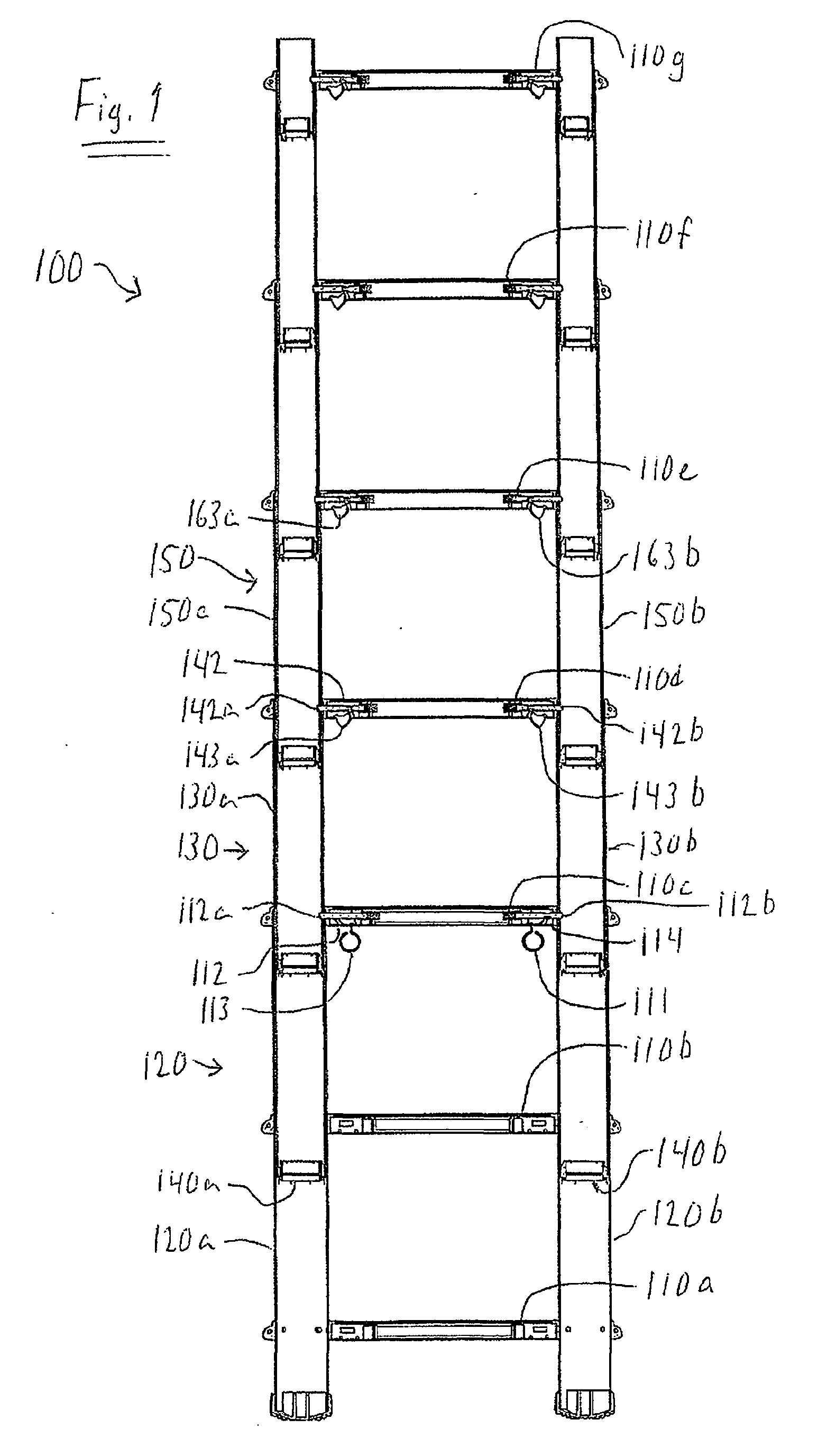 patent ep2370656b1 verst rkte zusammenklappbare leiter google patents. Black Bedroom Furniture Sets. Home Design Ideas
