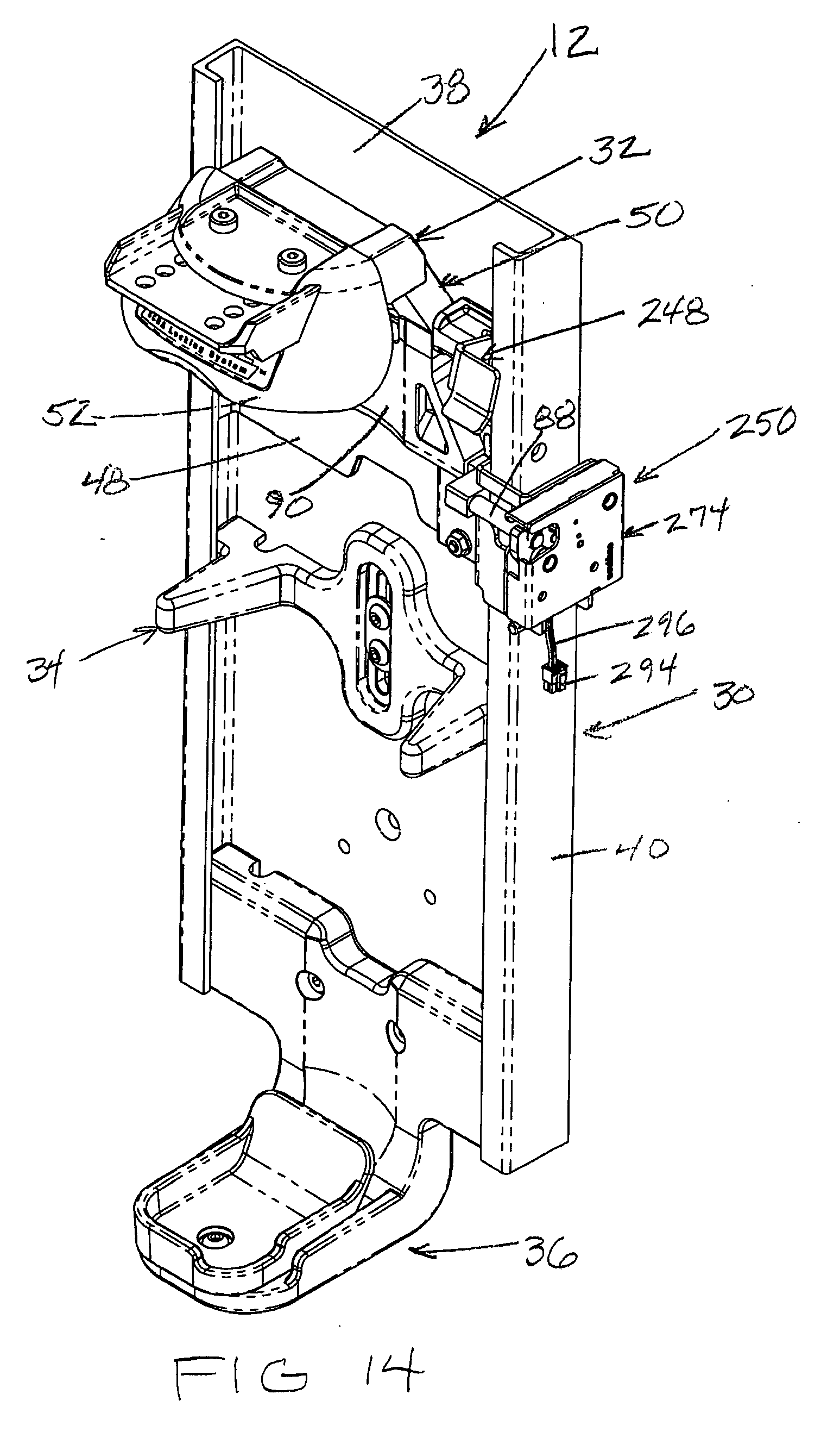Patent ep2374510a1 automatic locking scba mounting bracket patent drawing robcynllc Gallery