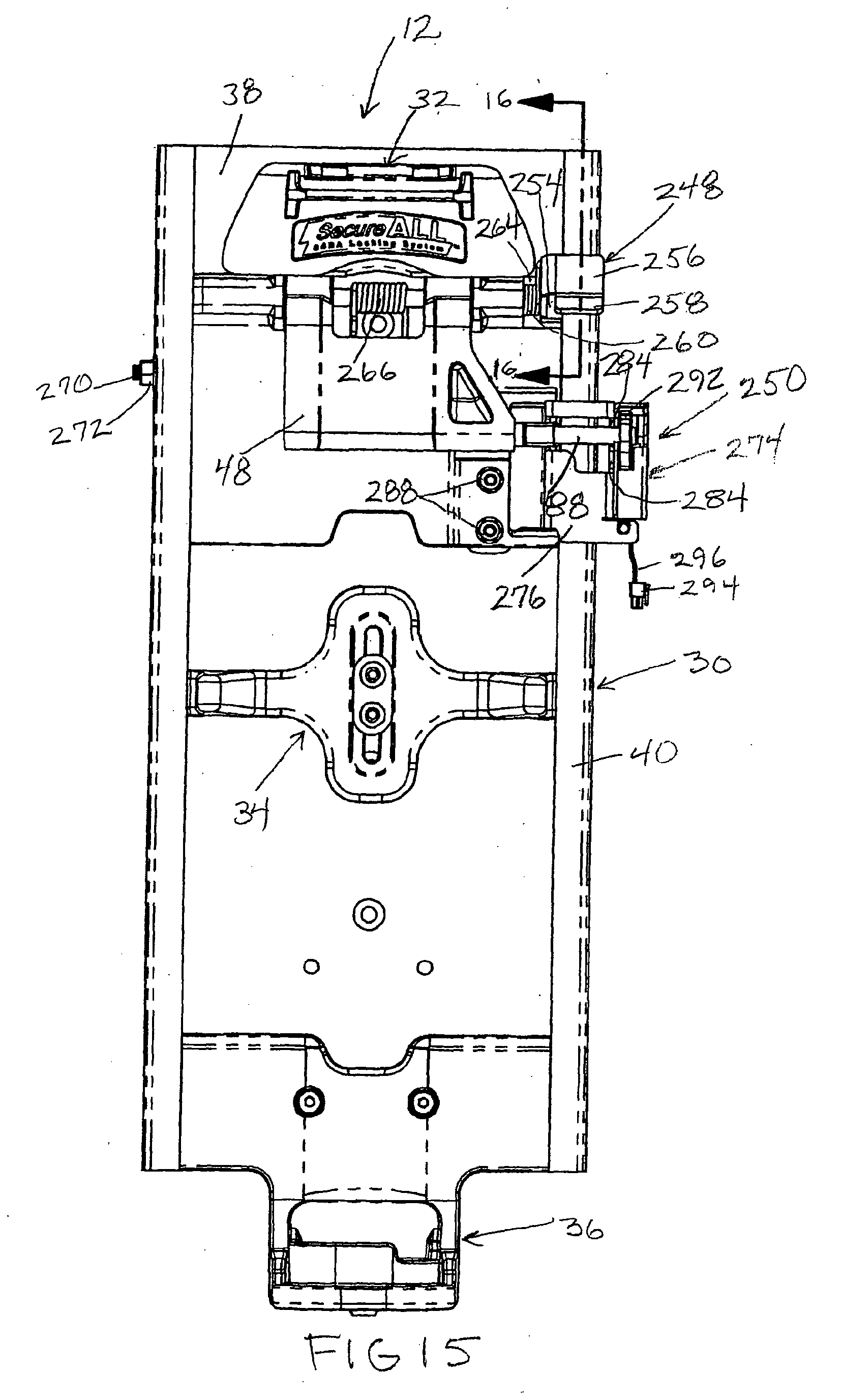 Patent EP2374510A1 - Automatic locking SCBA mounting cket ... on