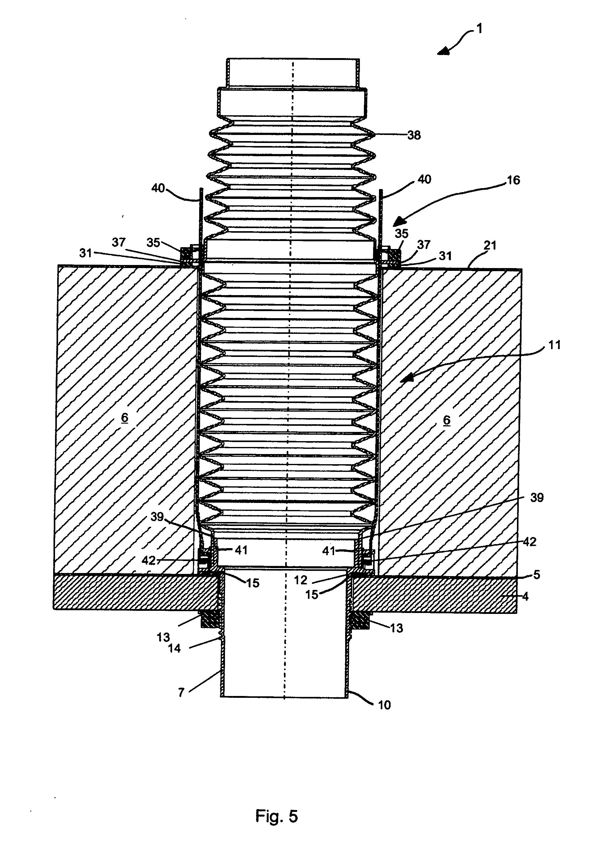 Patent ep2381150a2 abdichtungseinheit f r eine dach for Ritter schnitt verfahren