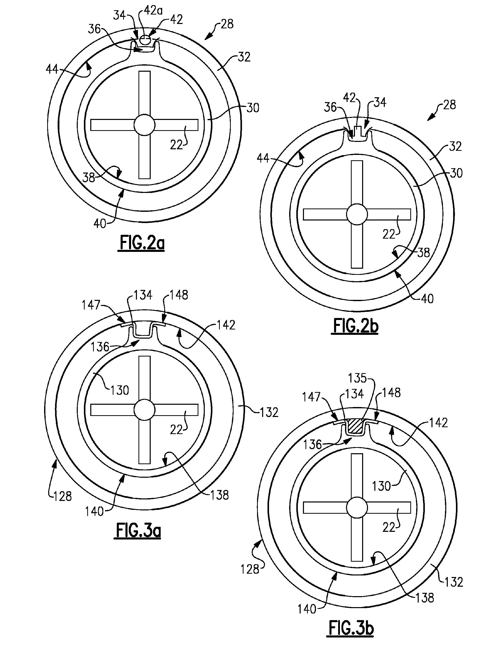 "براءة اÙ""Ø§Ø ØªØ±Ø§Ø¹ EP A2 Ceramic gas turbine shroud براءات"