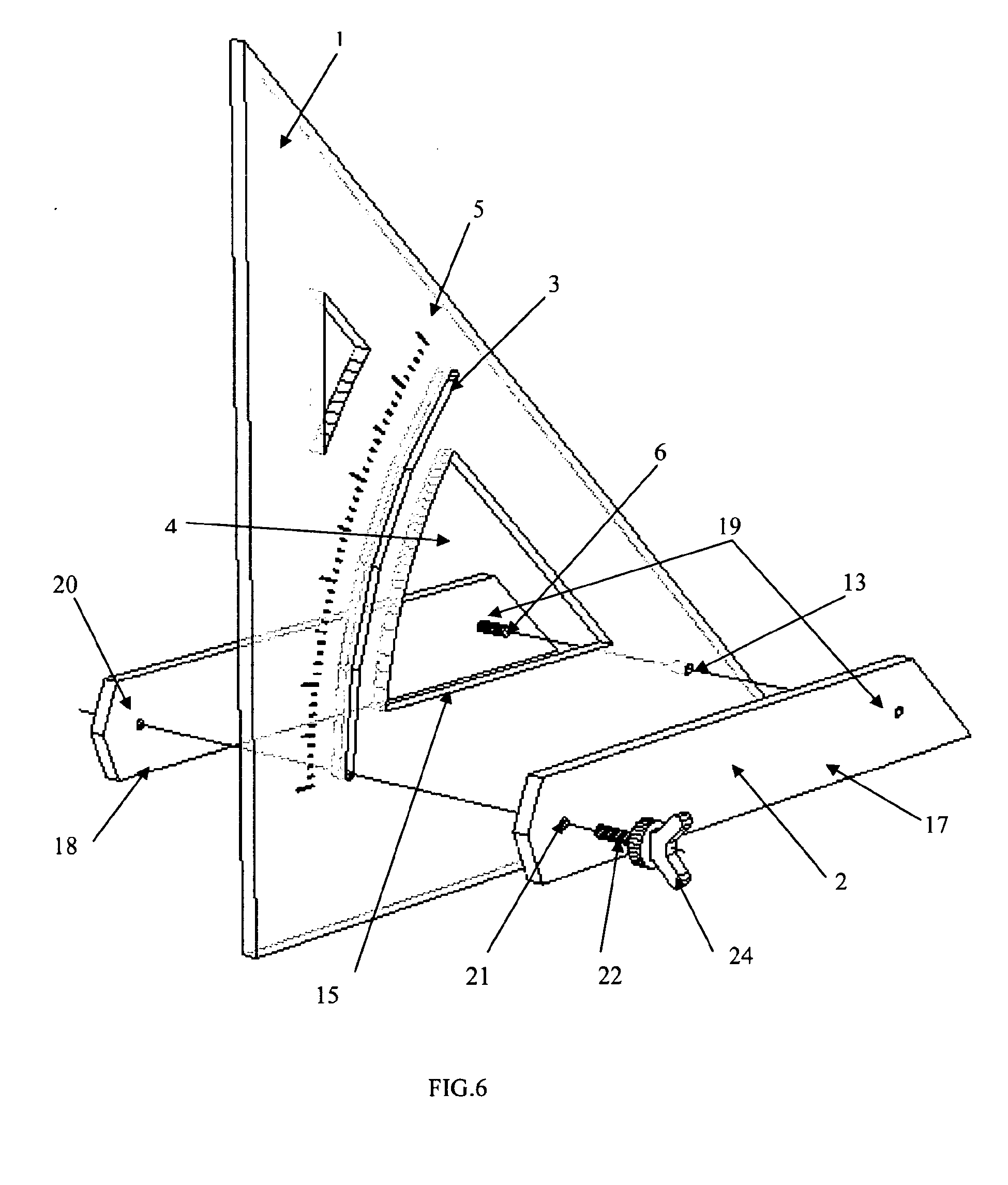 patent ep2420795a1 - equerre rapporteuse d u0026 39 angle