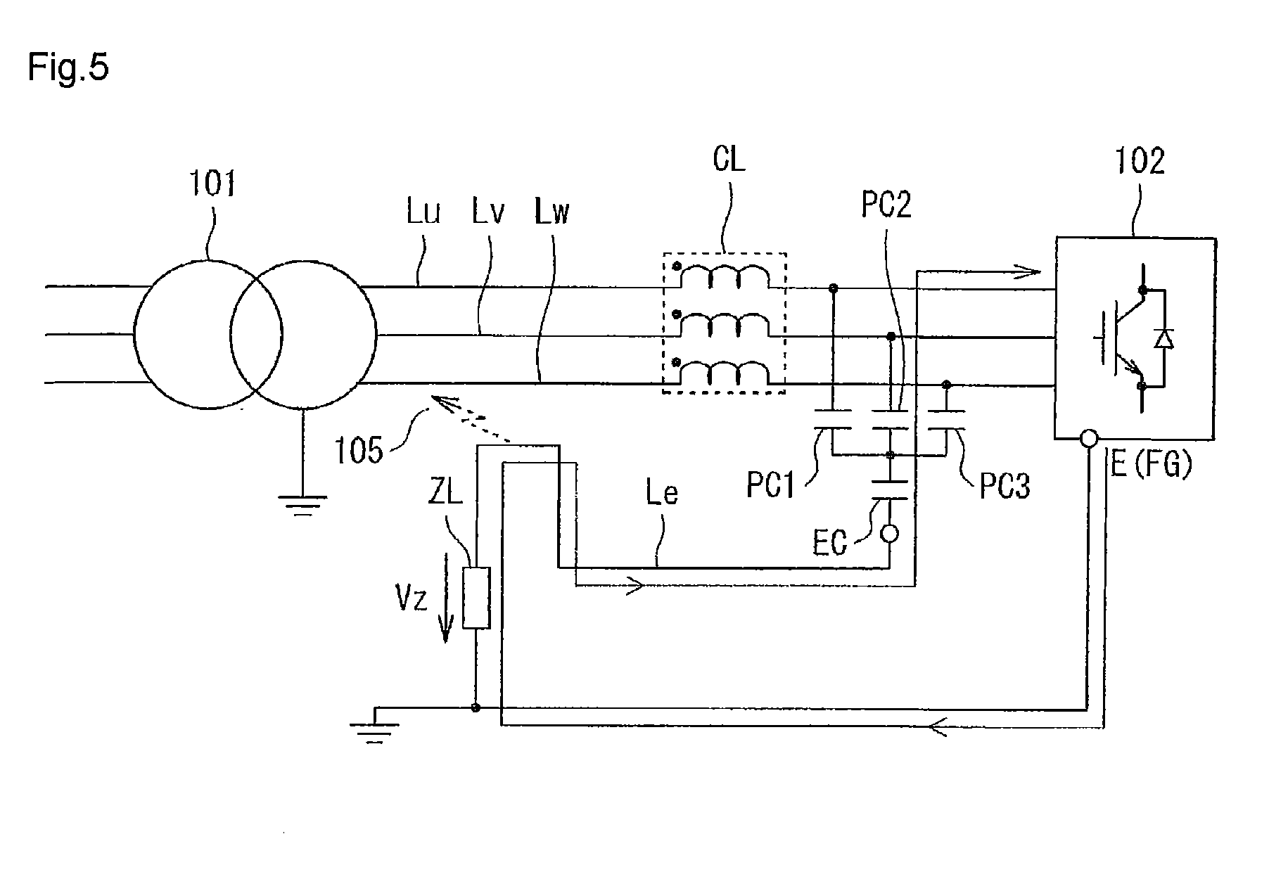 patent ep2421131a2 - noise filter and an emc filter using the same