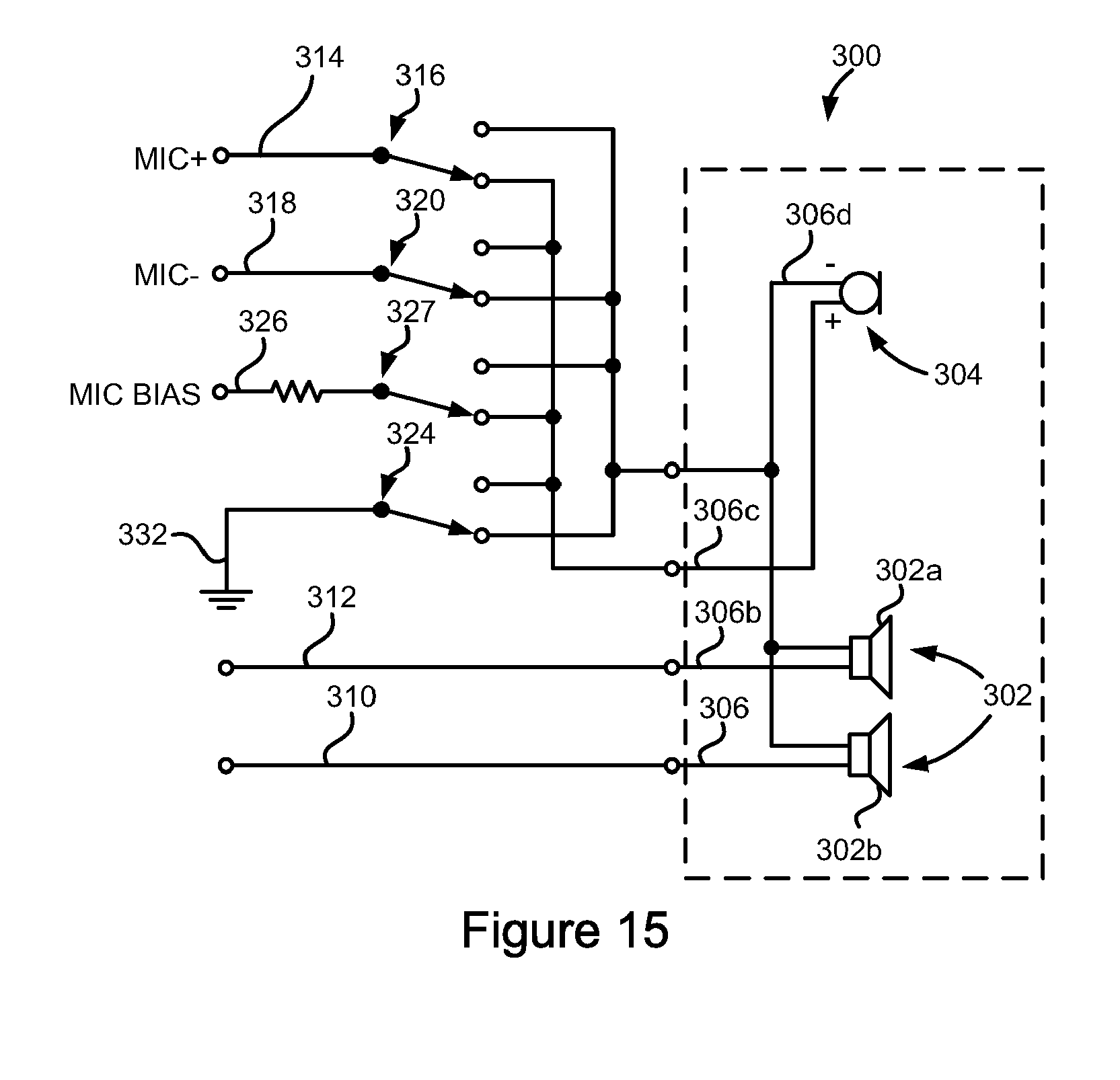 patent epa differential microphone circuit patents patent drawing