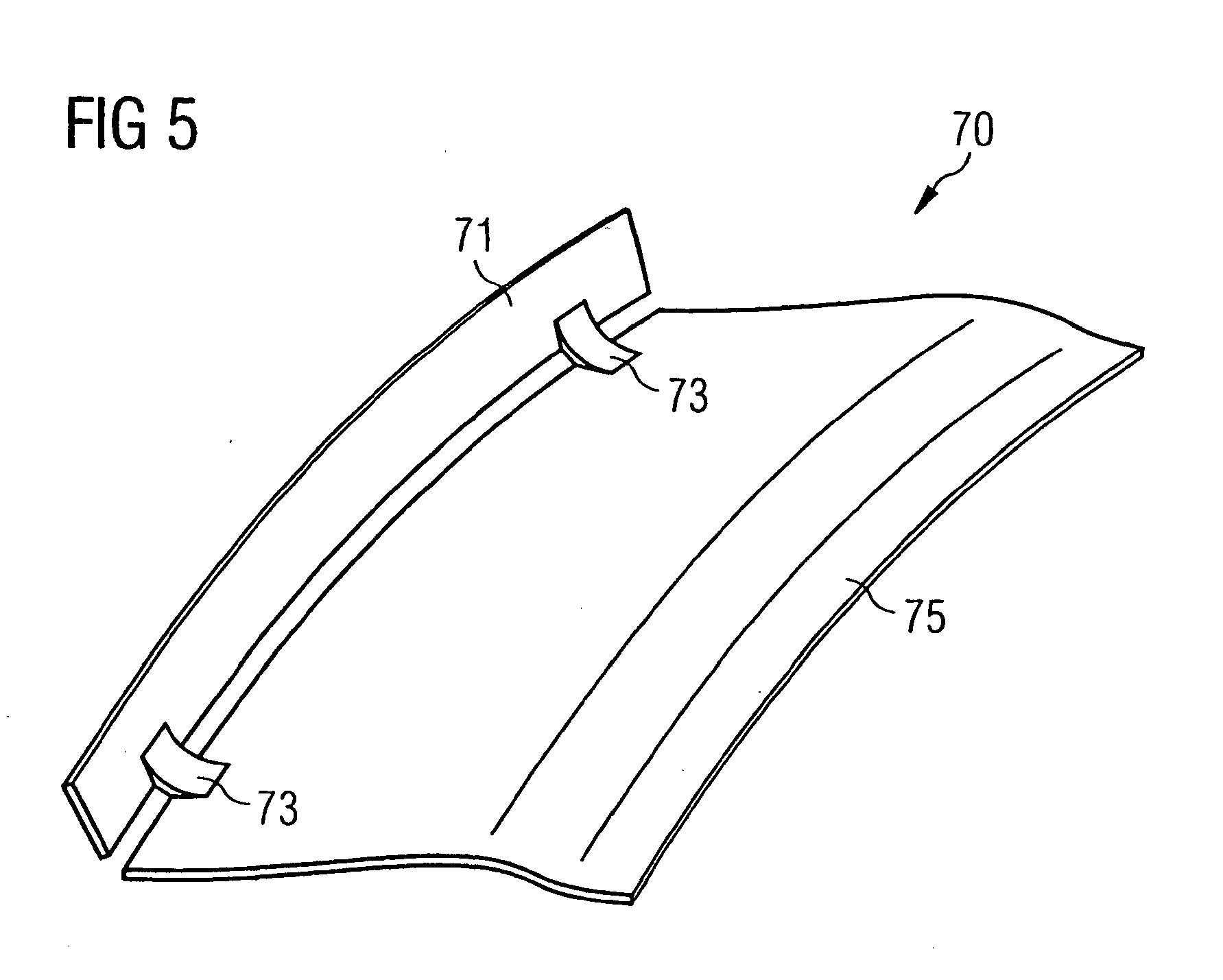 Patent EP B1 Gas turbine nozzle arrangement and gas