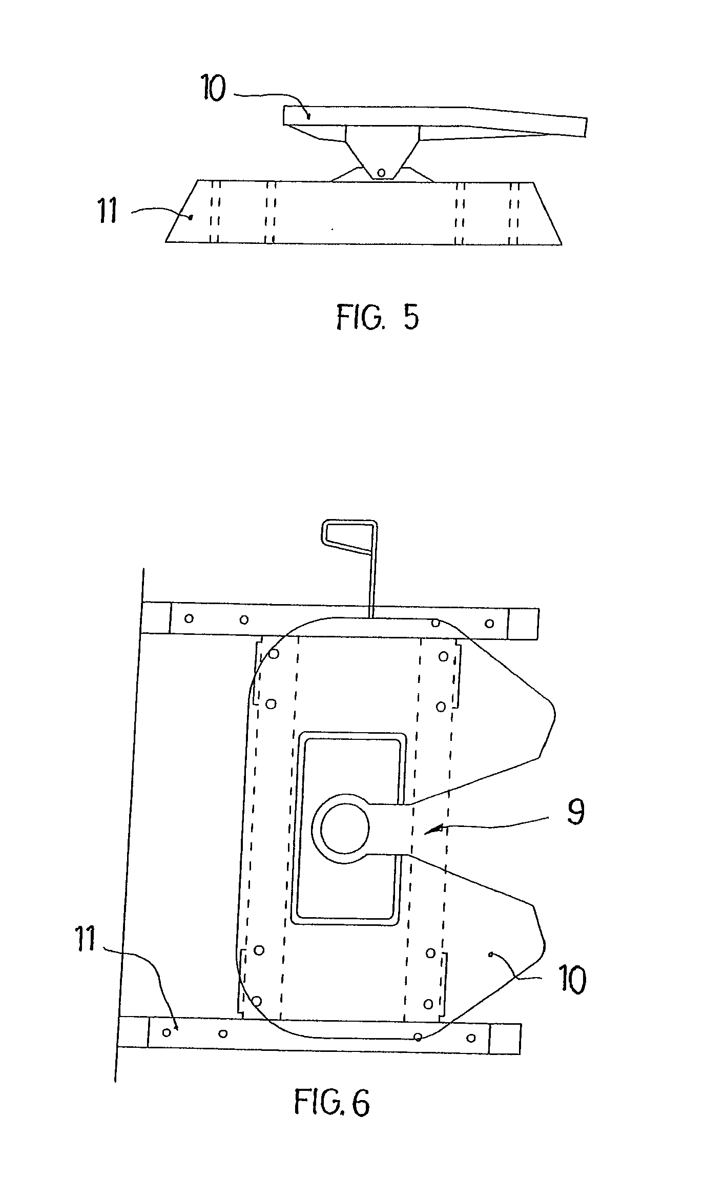 Vehicle Coupling System : Patent ep a system for coupling semi trailers