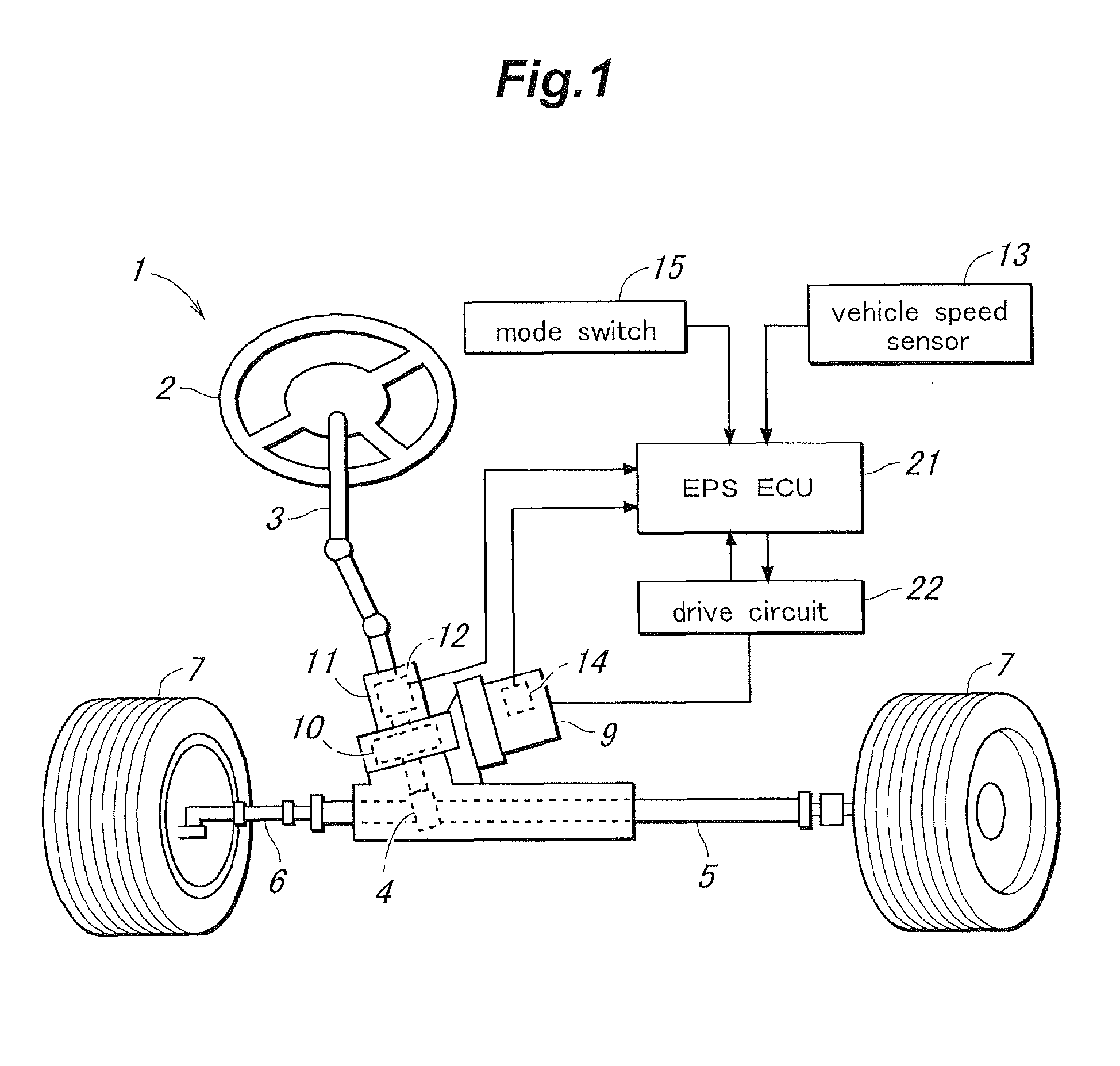 Patent EP2492169A1 - Electric power steering apparatus - Google ...