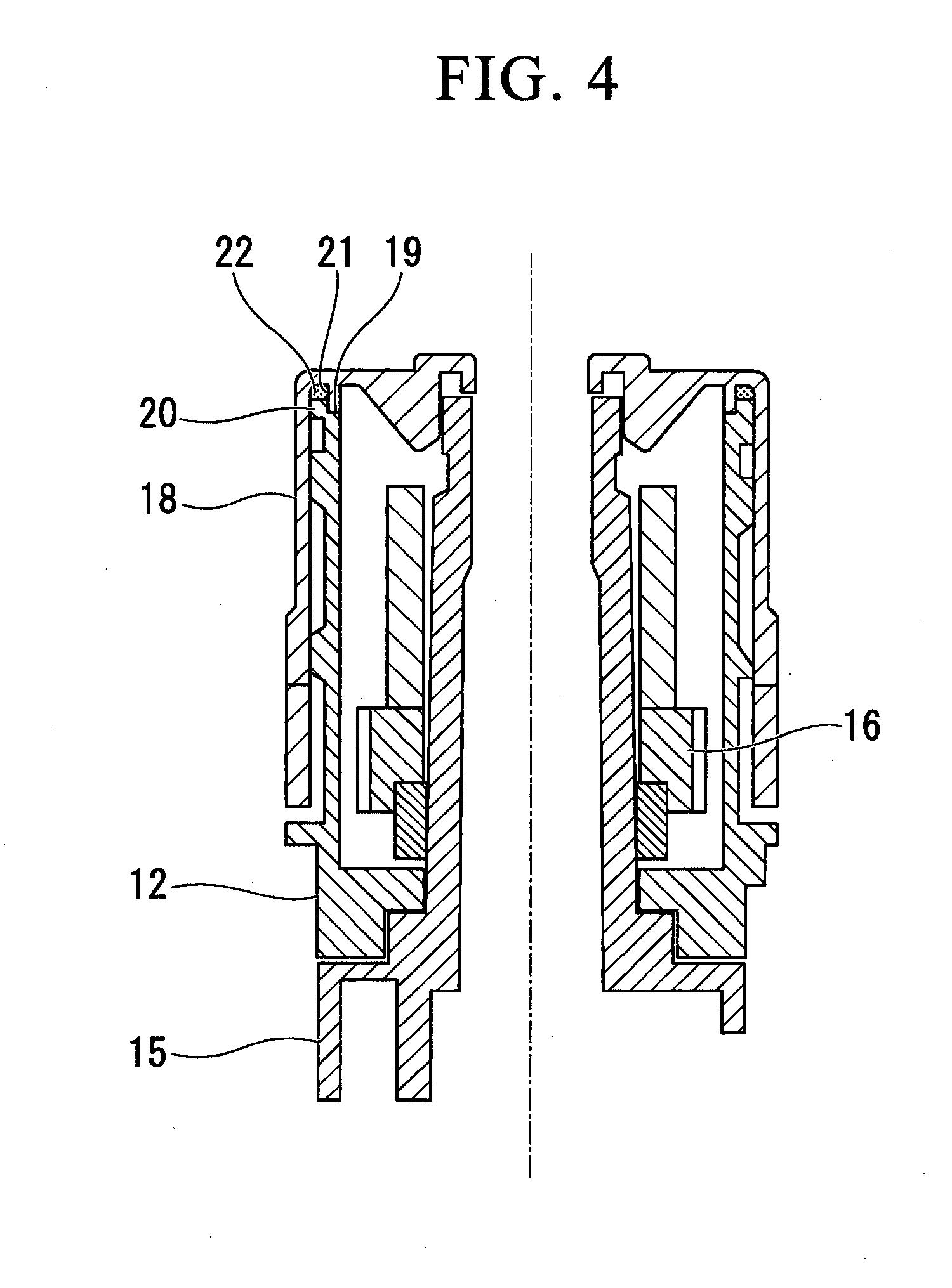 patent ep2500215b1 - vorrichtung zur einstellung des winkels einer