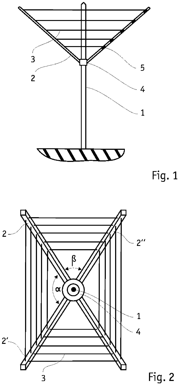 patent ep2503051a1 w schespinne mit leineneinzug. Black Bedroom Furniture Sets. Home Design Ideas