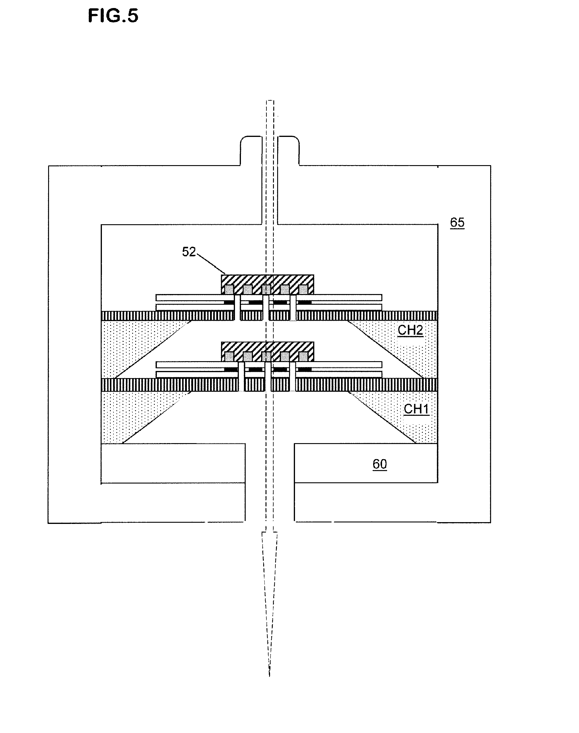 Patent Ep2533037a1 Chemoresistor Type Gas Sensor Having A Multi Series Electric Circuit Loublet Schematic Drawing