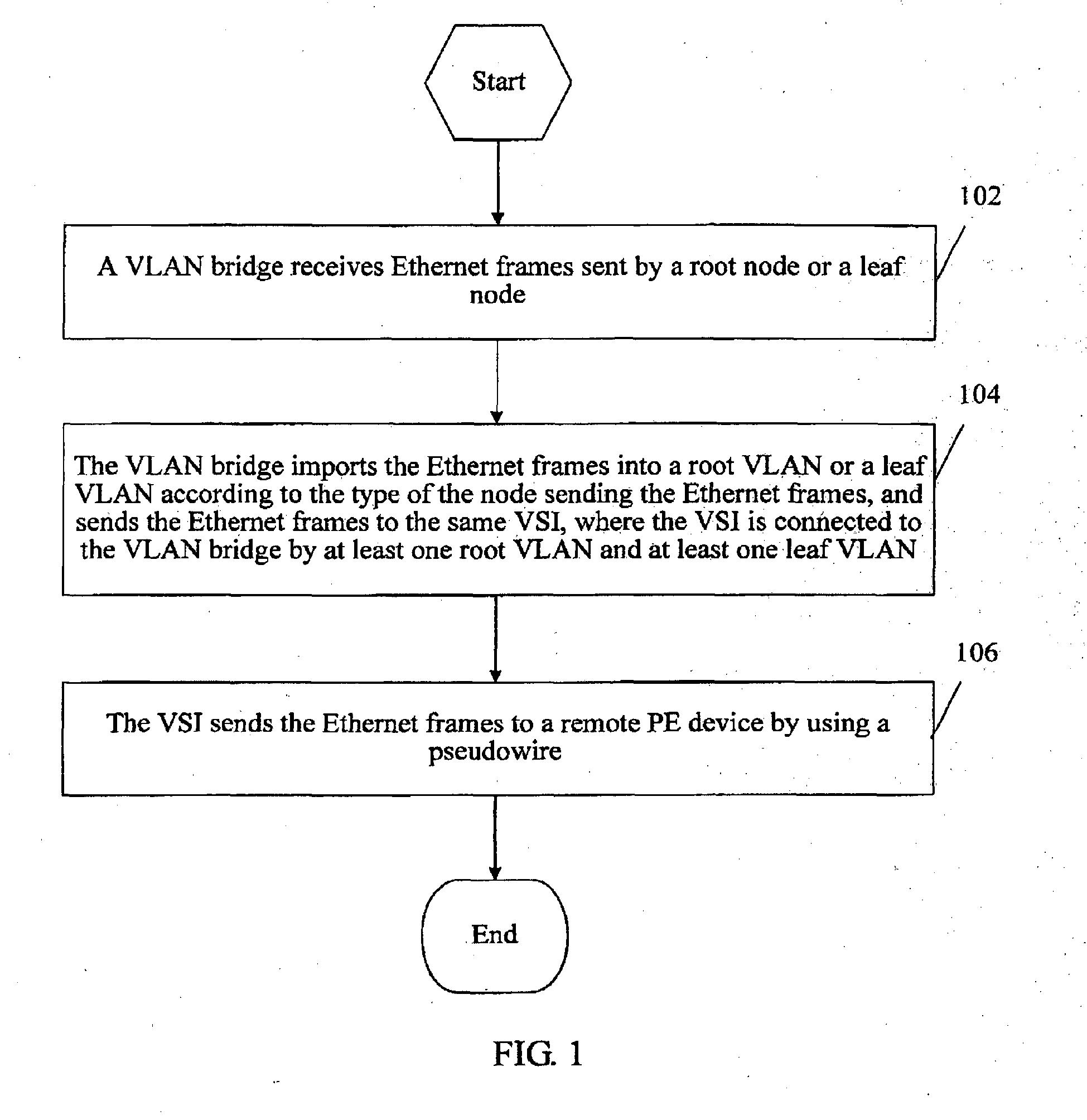 patent drawing - Ethernet Frames