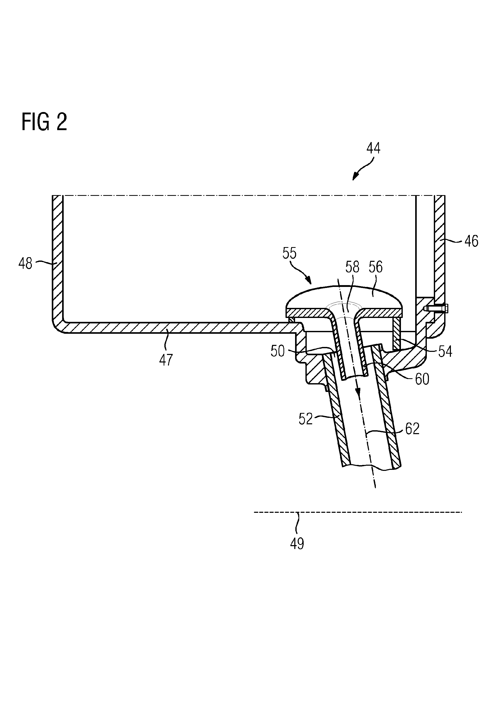 Patent EP A1 Hydraulic bearing for a stationary gas
