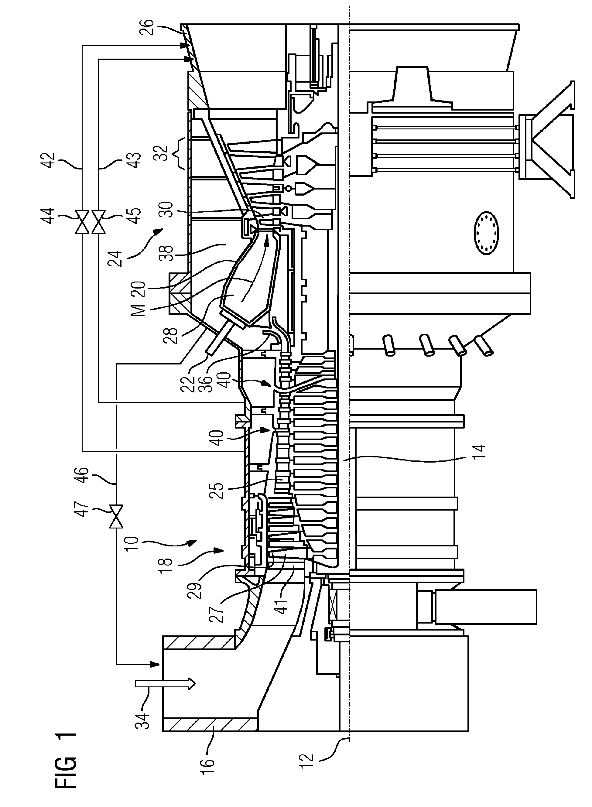 Patent EP A1 Method for accelerating the rotor of a