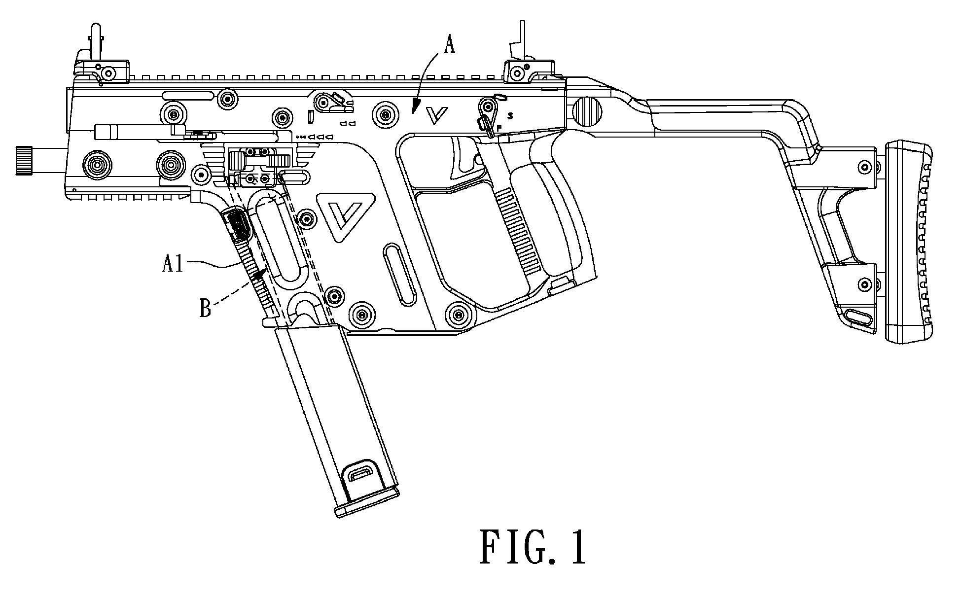 Firing Mechanisms For Guns : Patent ep a firing linkage mechanism for toy