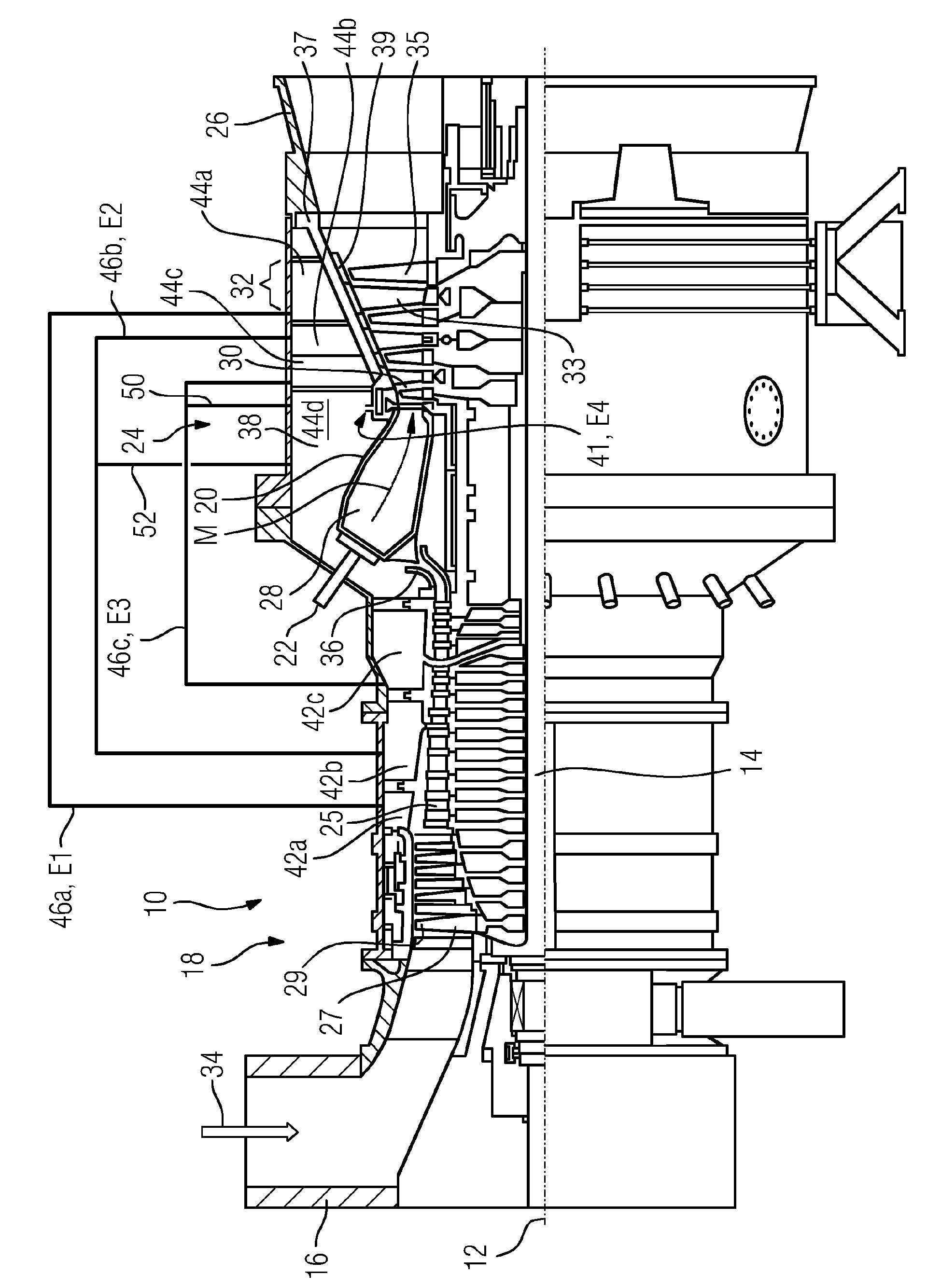 Patent EP A1 Method for operating a stationary gas turbine
