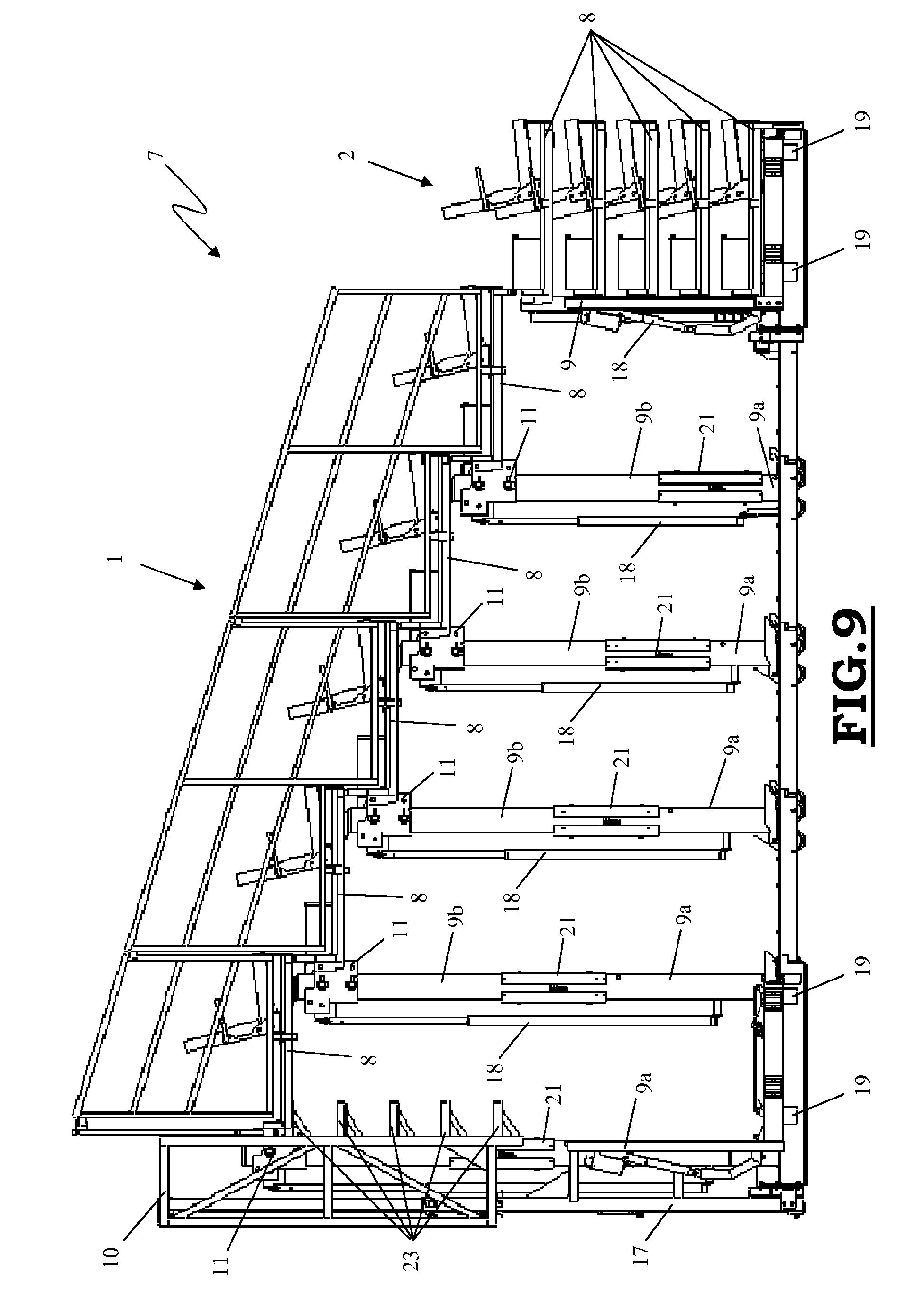 patent ep2604776a1 tribune t lescopique avec des. Black Bedroom Furniture Sets. Home Design Ideas