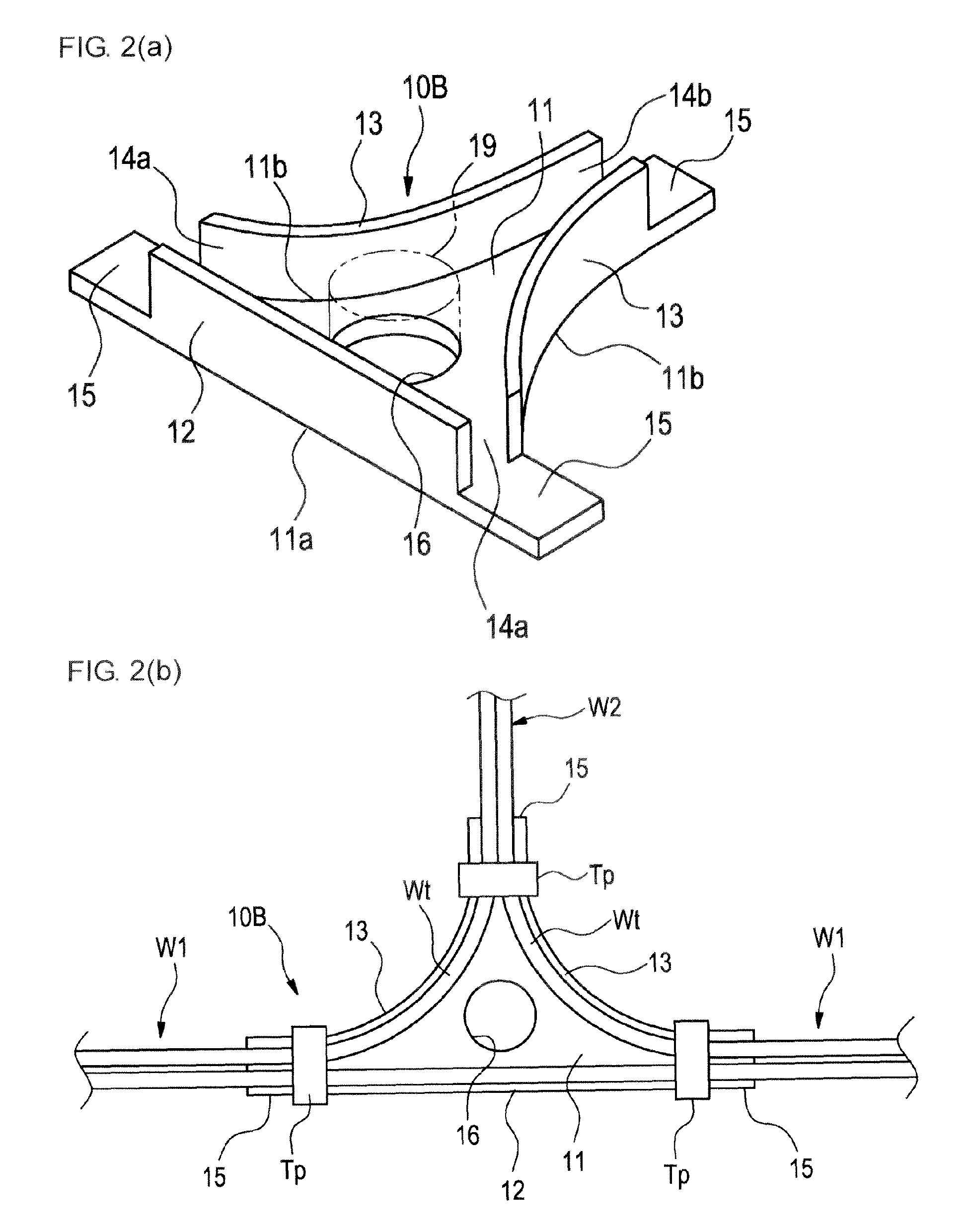 patent ep2639799a1 - wire harness junction holder