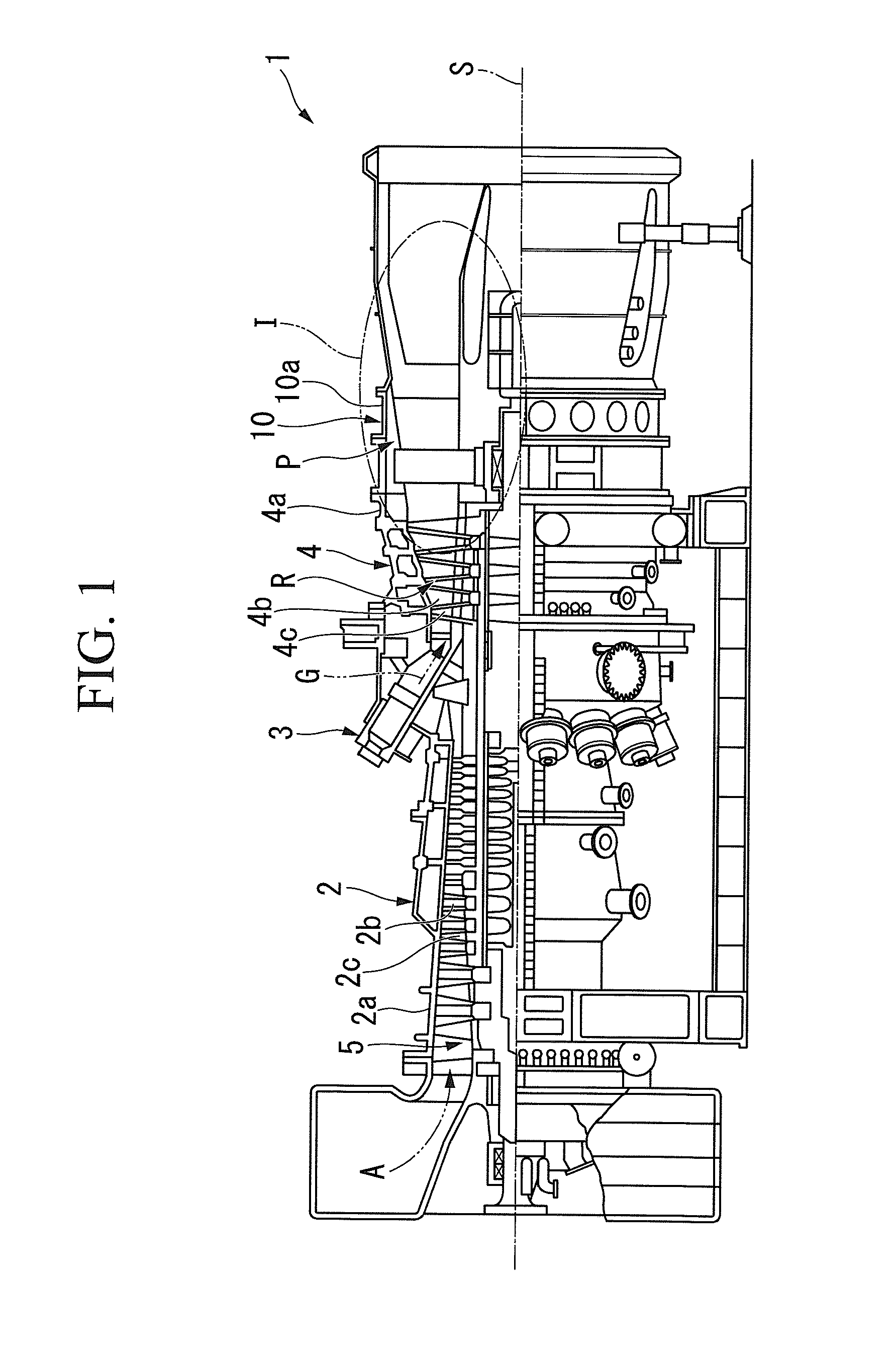 Patent EP A1 Flow path structure and gas turbine exhaust