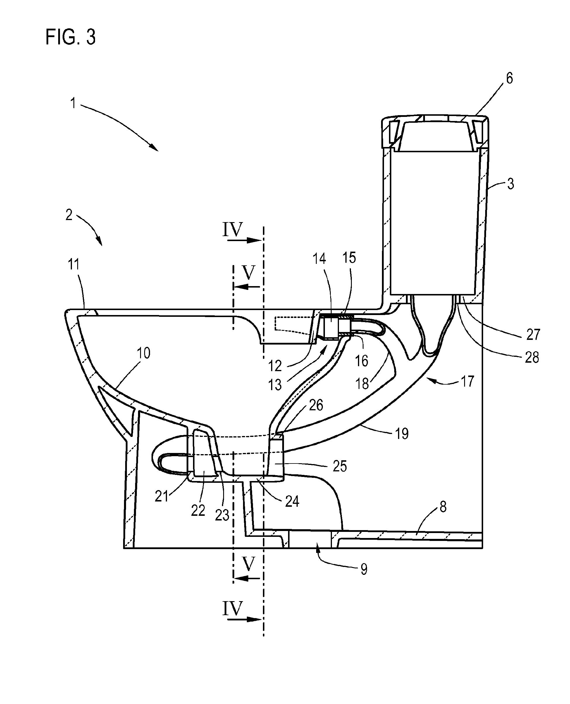 patent ep2664720a2 stand wc mit angegossenem sp lkasten. Black Bedroom Furniture Sets. Home Design Ideas