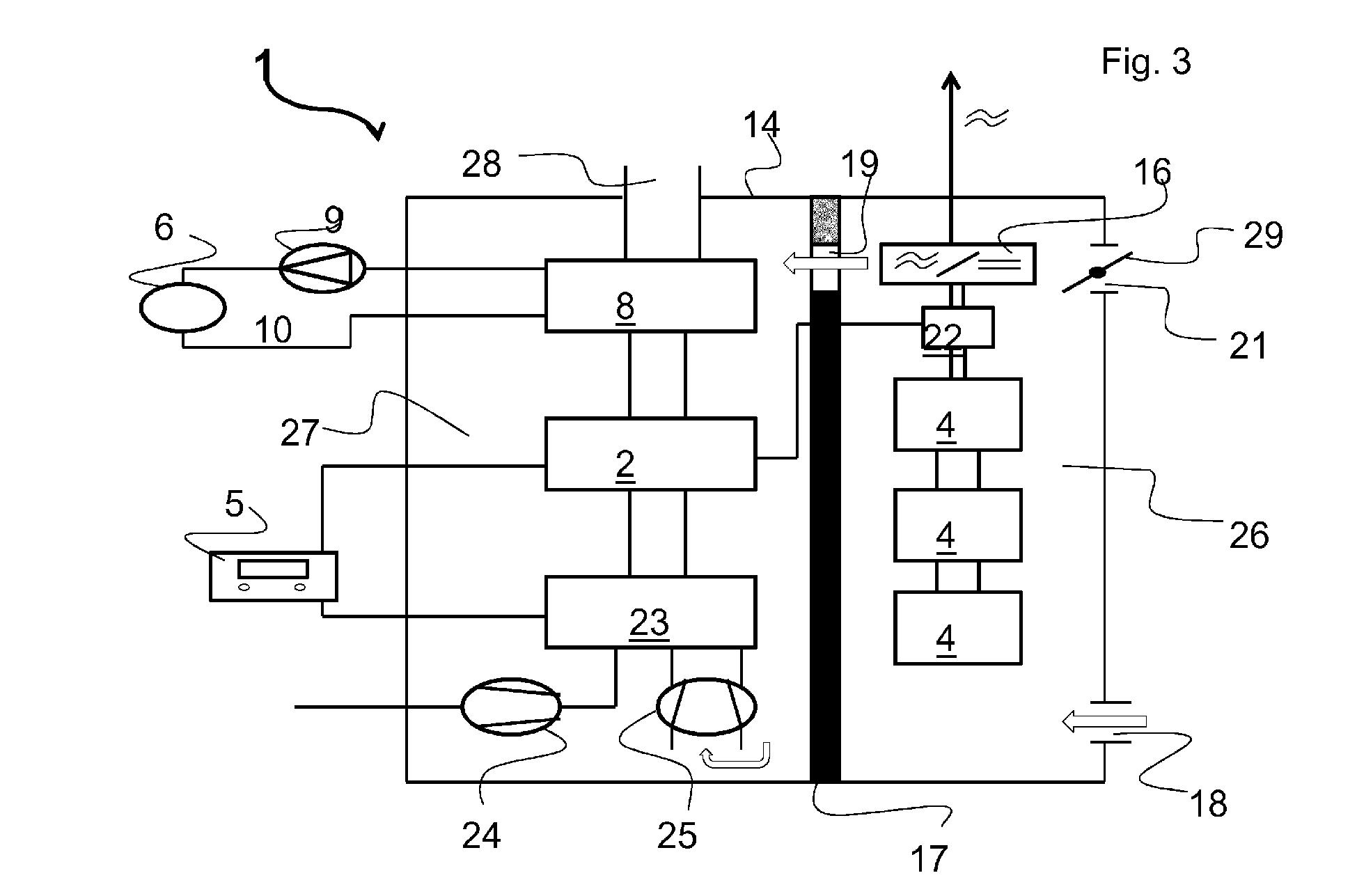 Patent EP2700802A1 - Blockheizkraftwerk mit integriertem ...