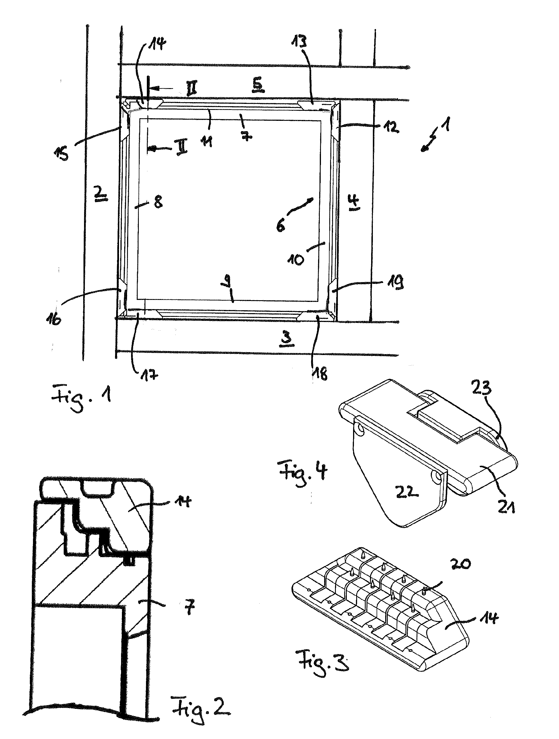Patent EP2703123A1 - Frame press for producing corner connections on ...