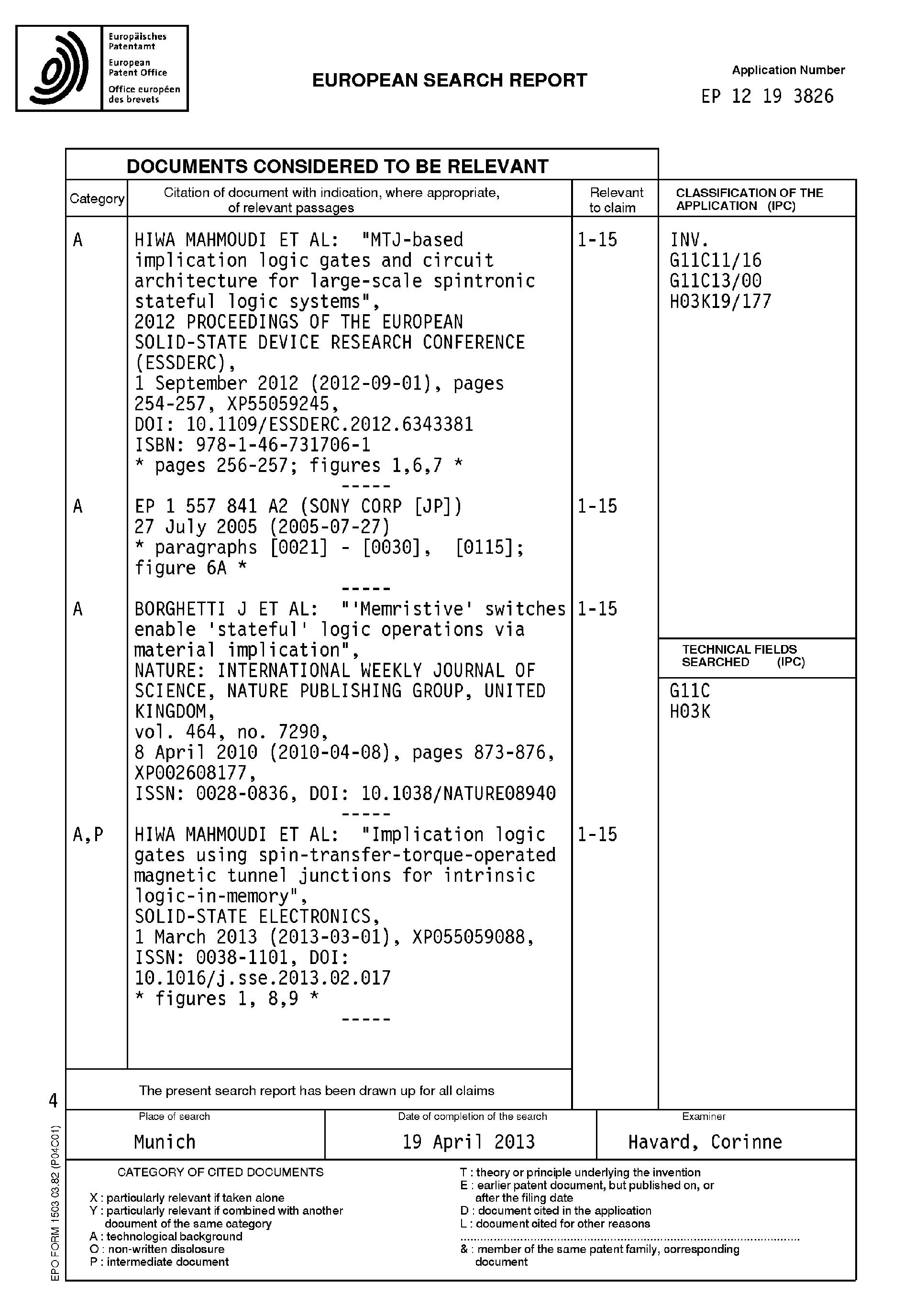 Mtj Implications Logic Gate Diagram Wiring Diagrams Ladder Symbols Patent Ep2736044a1 Rram Implication Gates Google Patents