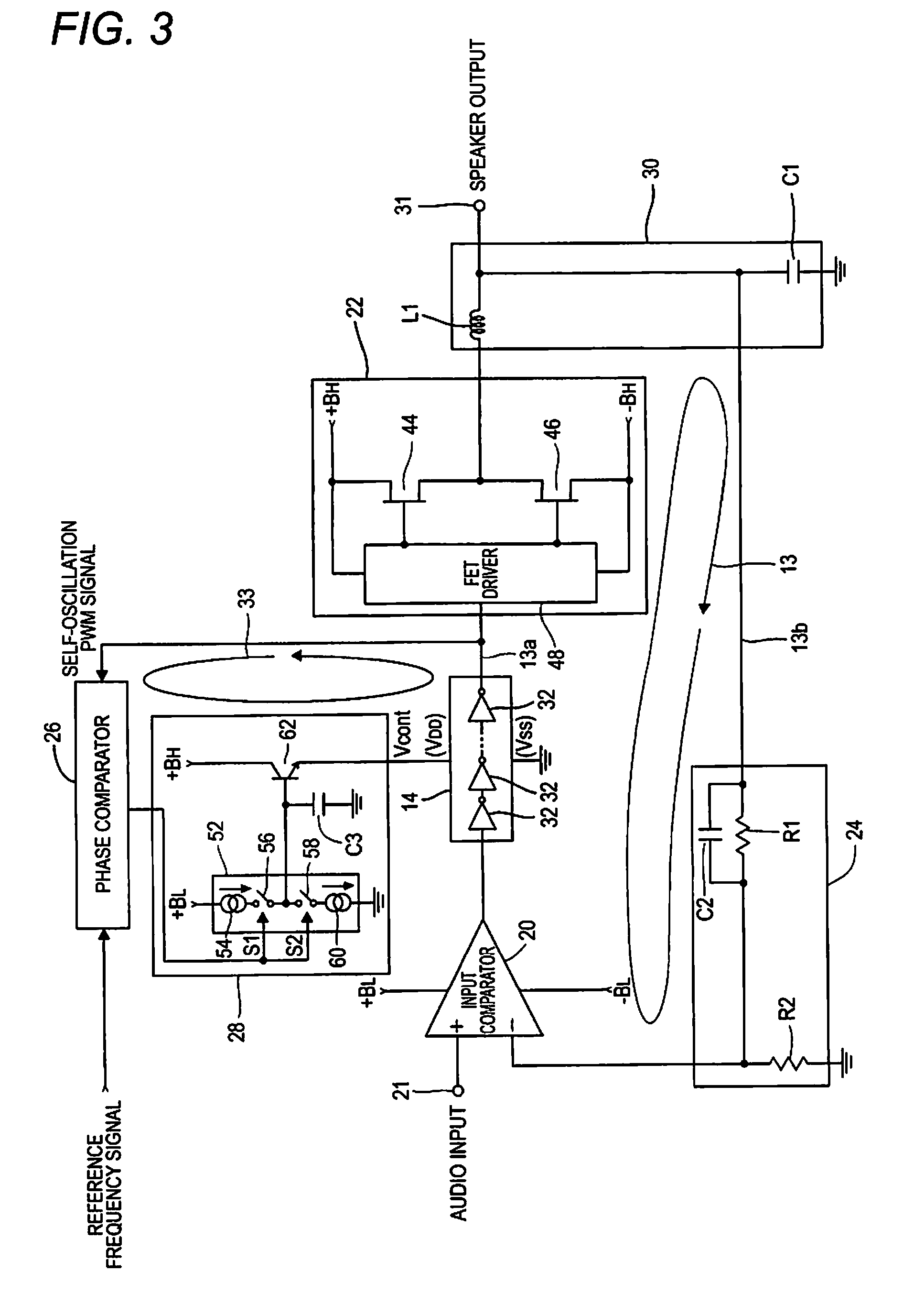 ... imgf0002 patent ep2775611a1 self oscillating class d amplifier and self  doga wiper motor wiring diagram at