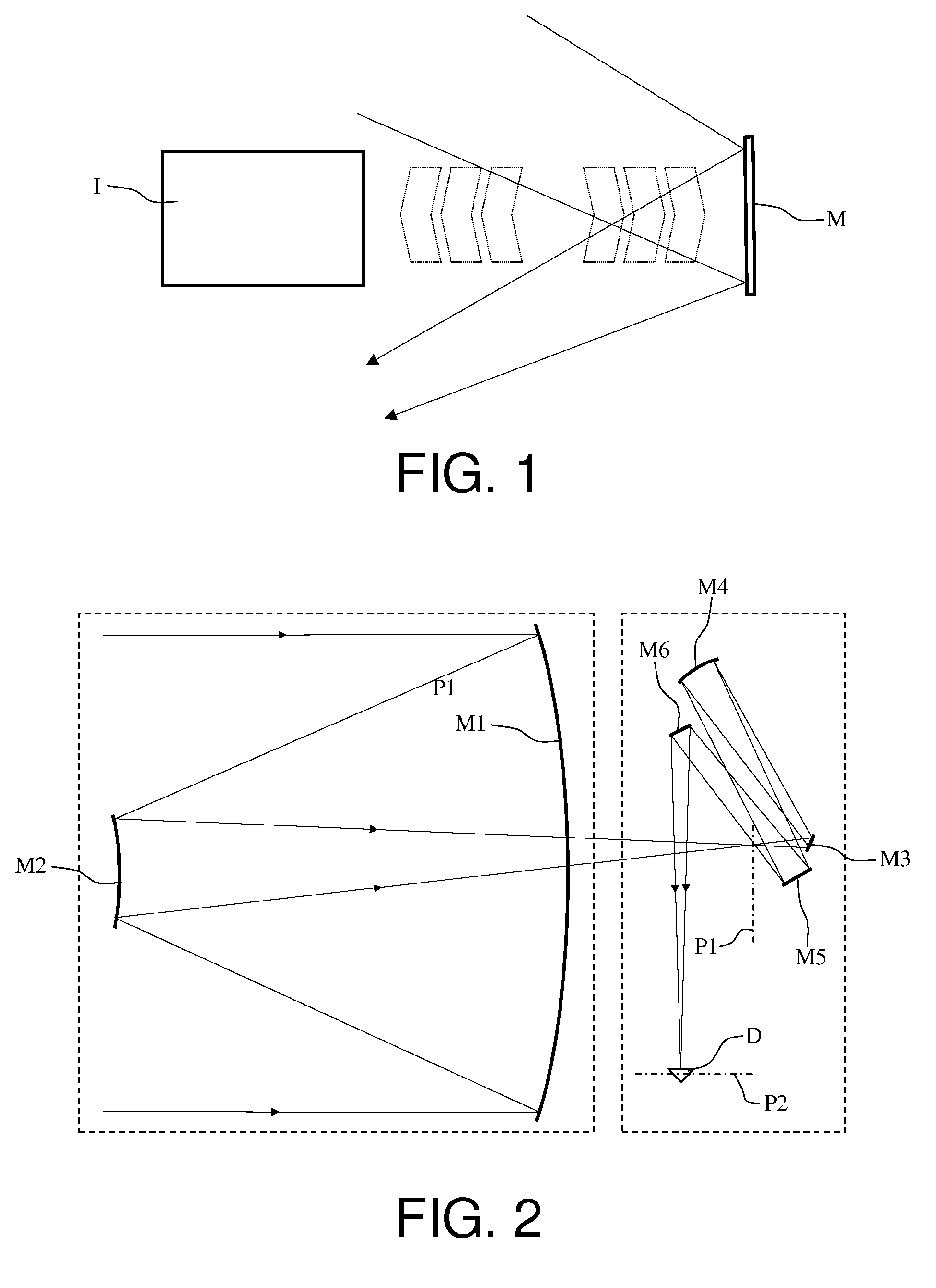 Patent ep2851732a1 telescope with active mirror and for Miroir concave
