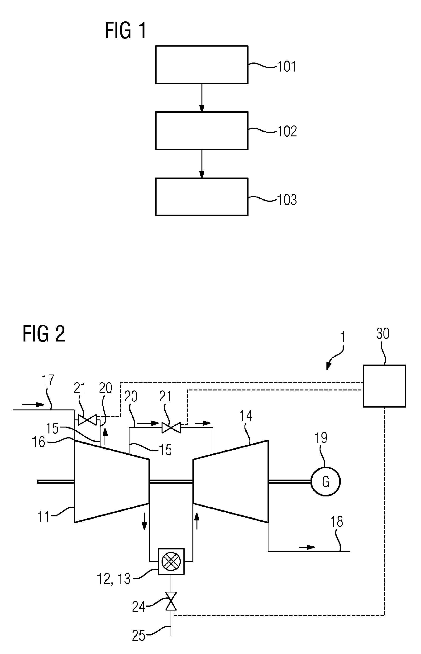 Patent EP A1 Method of operating a stationary gas turbine