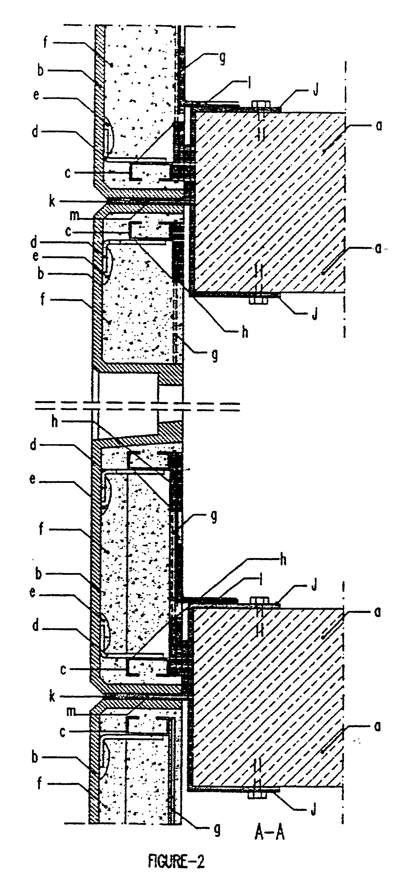 Grc Fixing Base Detail : Patent us  prefabric fiber reinforced cement