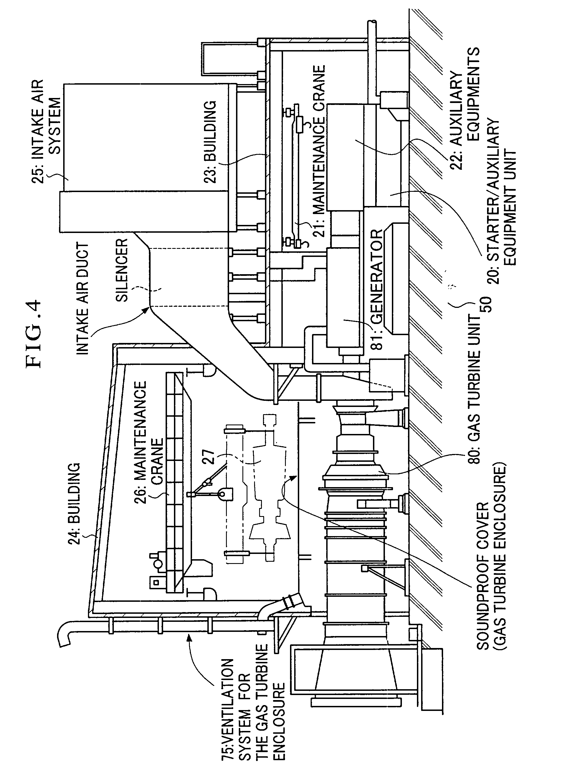 Patent US Gas turbine generator plant Google