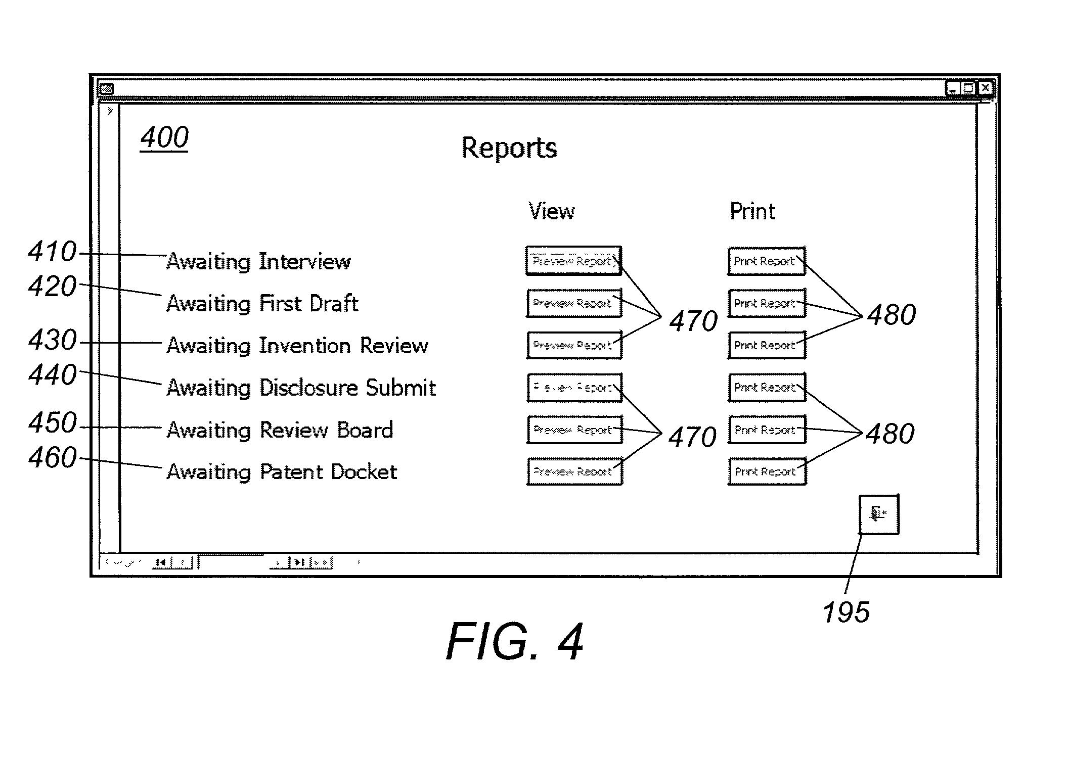 patent docket
