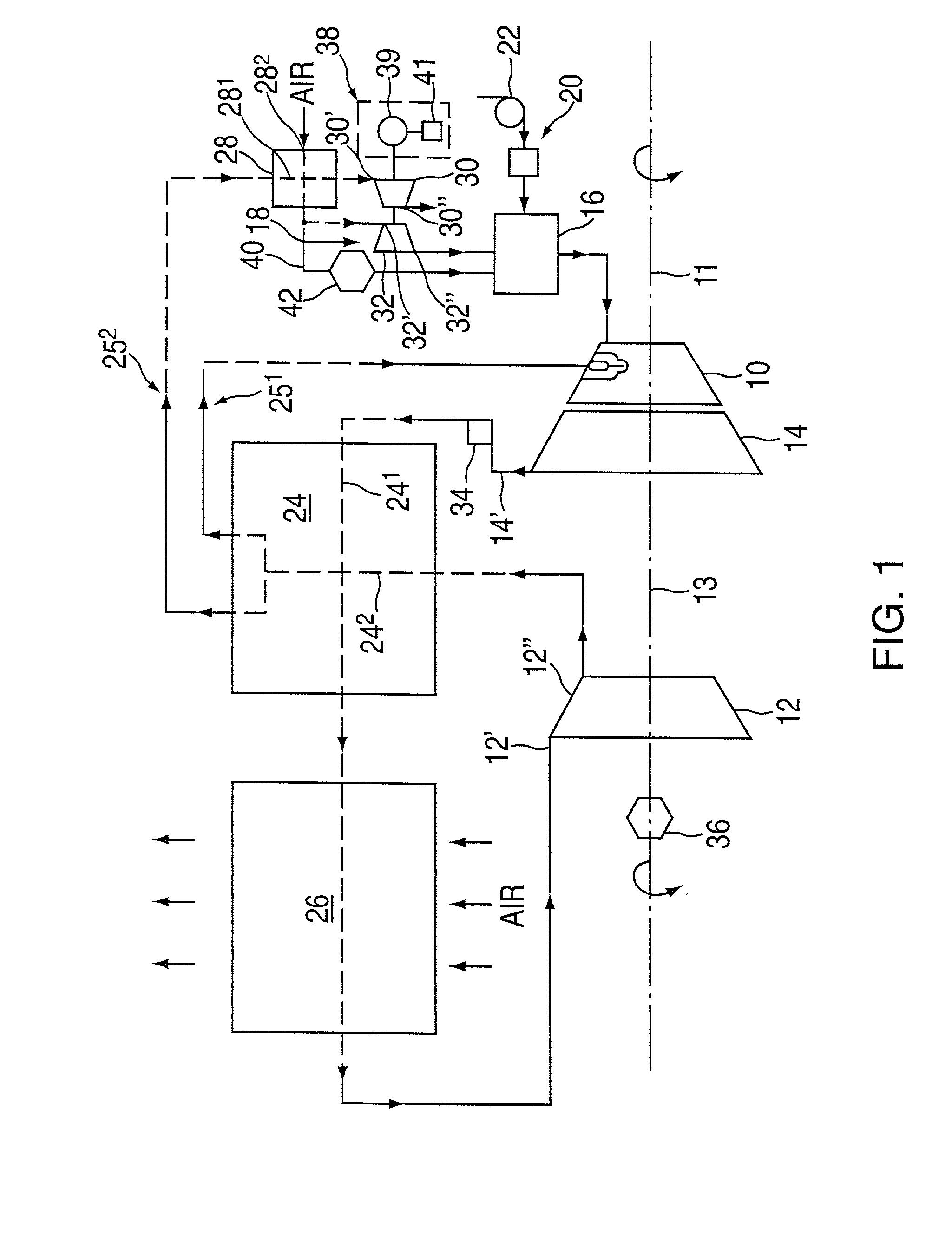 Patent US Method of operation of gas turbine engine