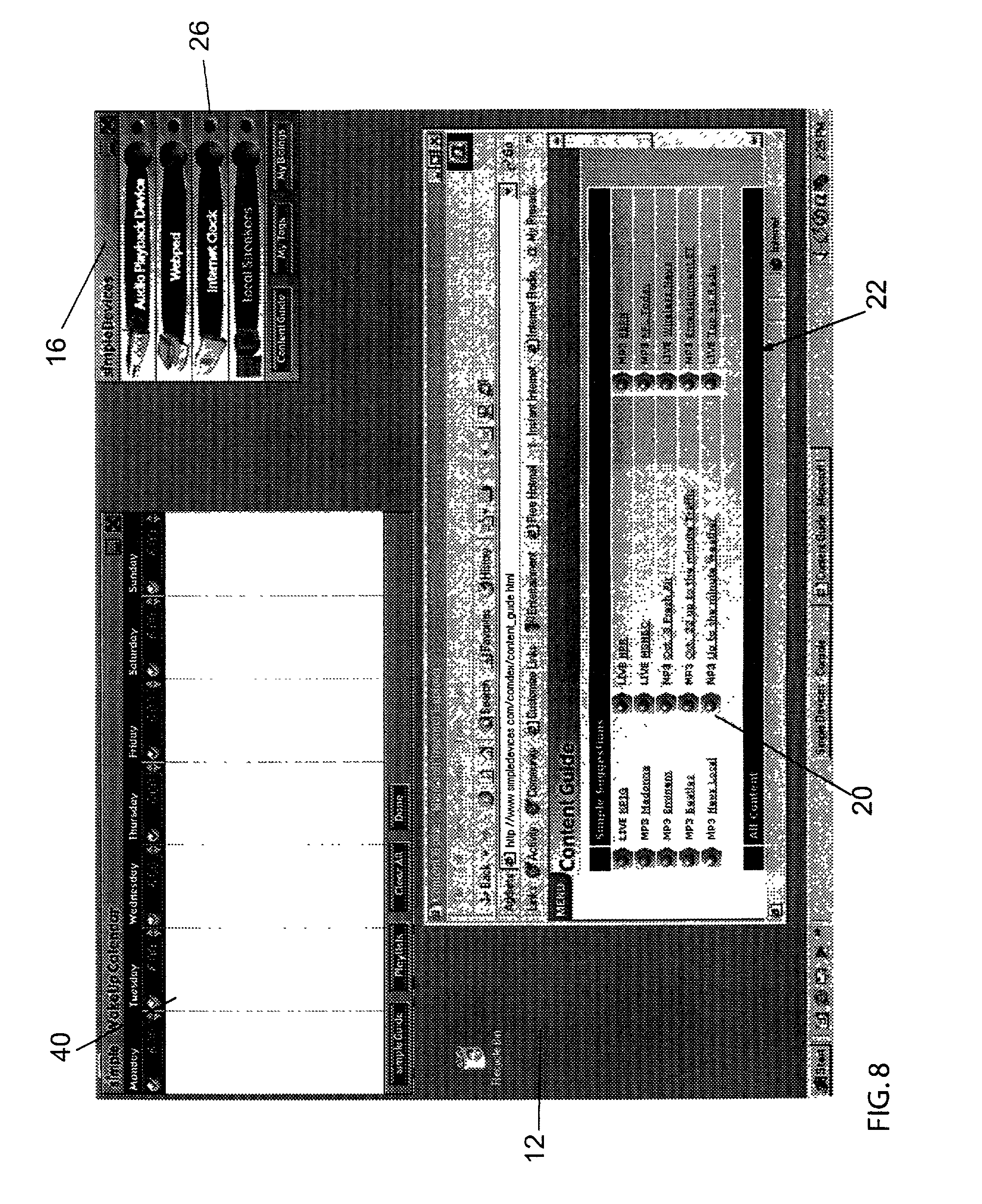 patent us system for providing content management
