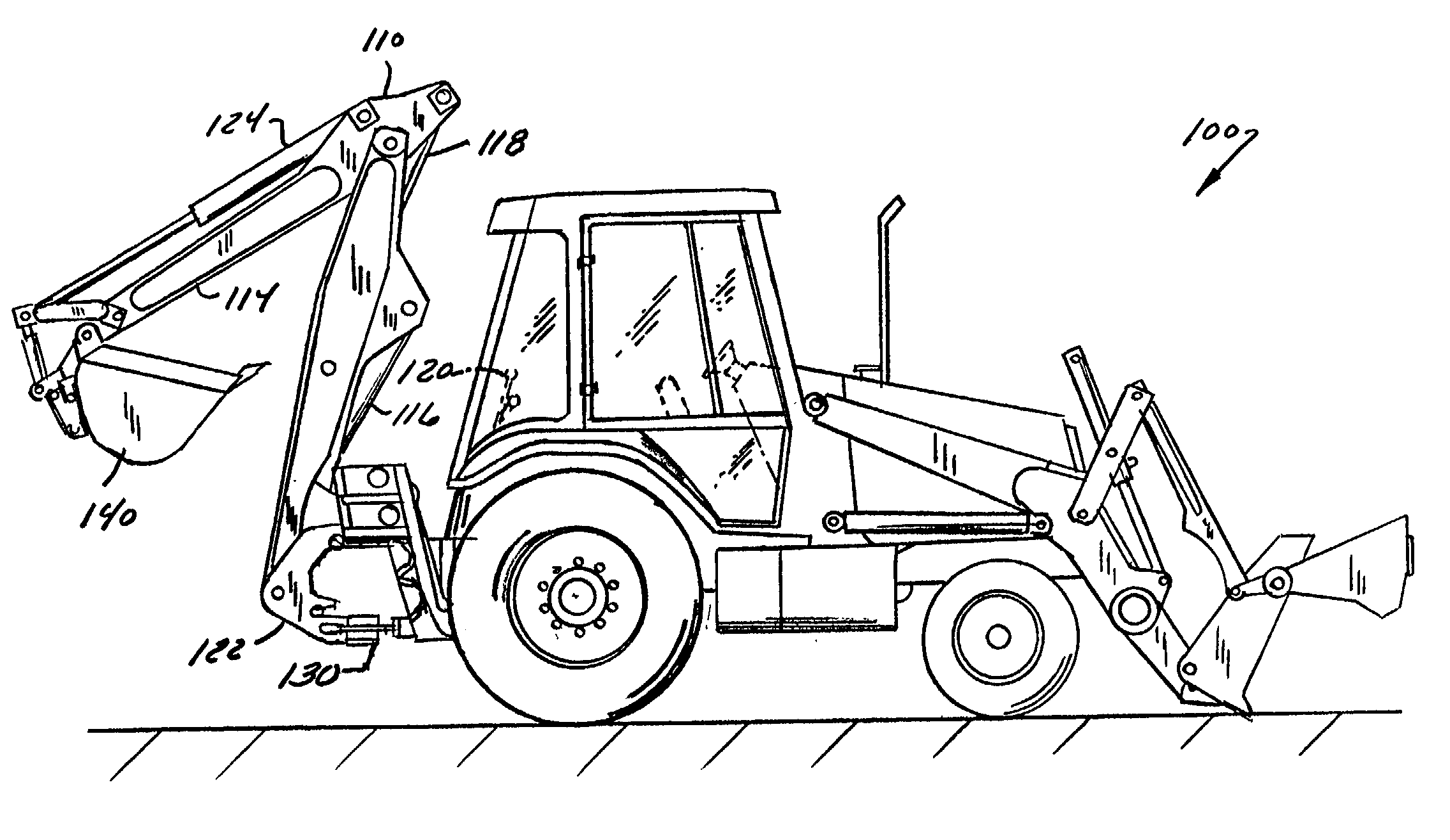 Patent US20020038548 - System For Reducing Boom Swing Oscillation In A Backhoe Assembly - Google ...