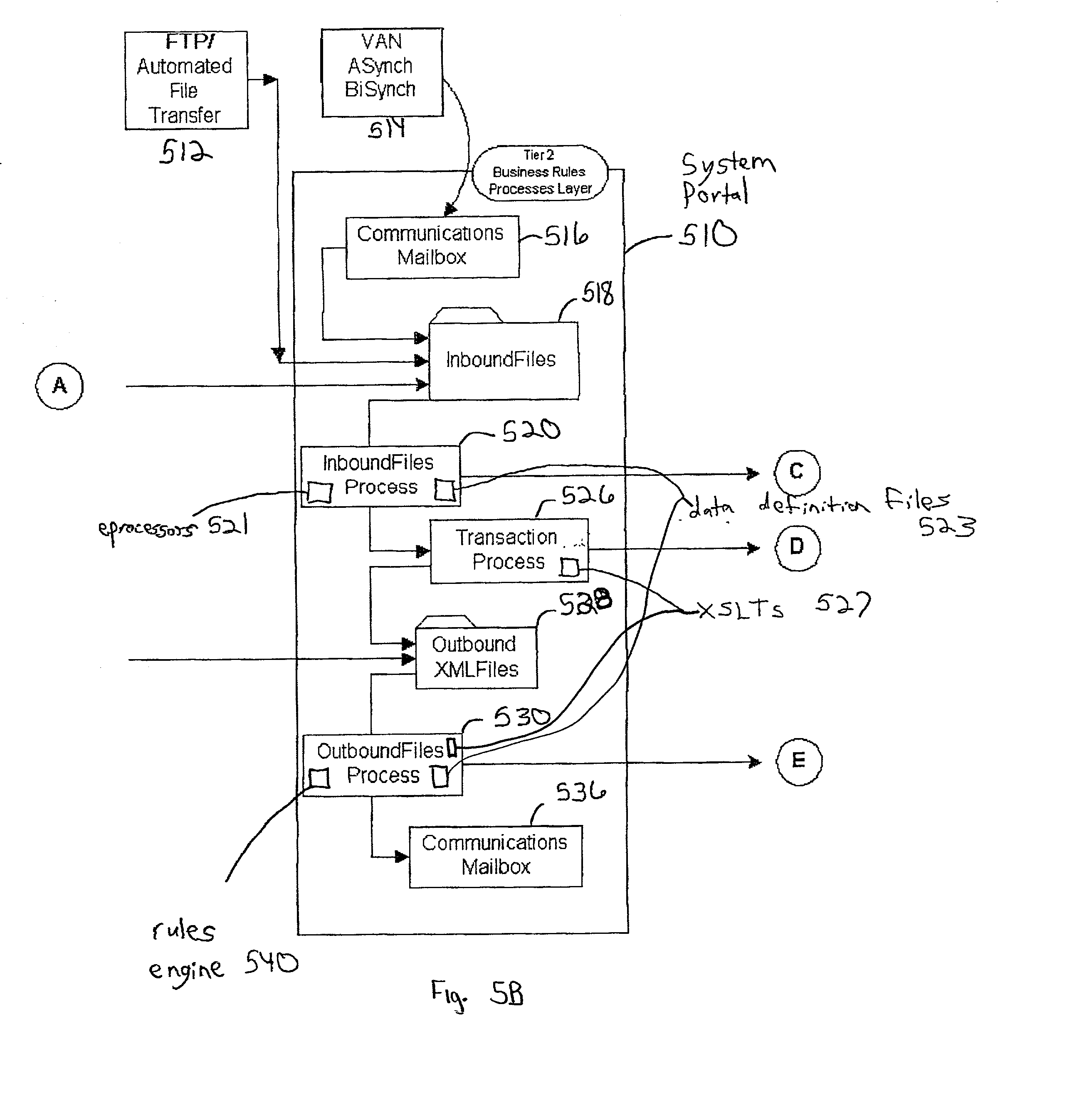patent us20020099735 system and method for conducting electronic