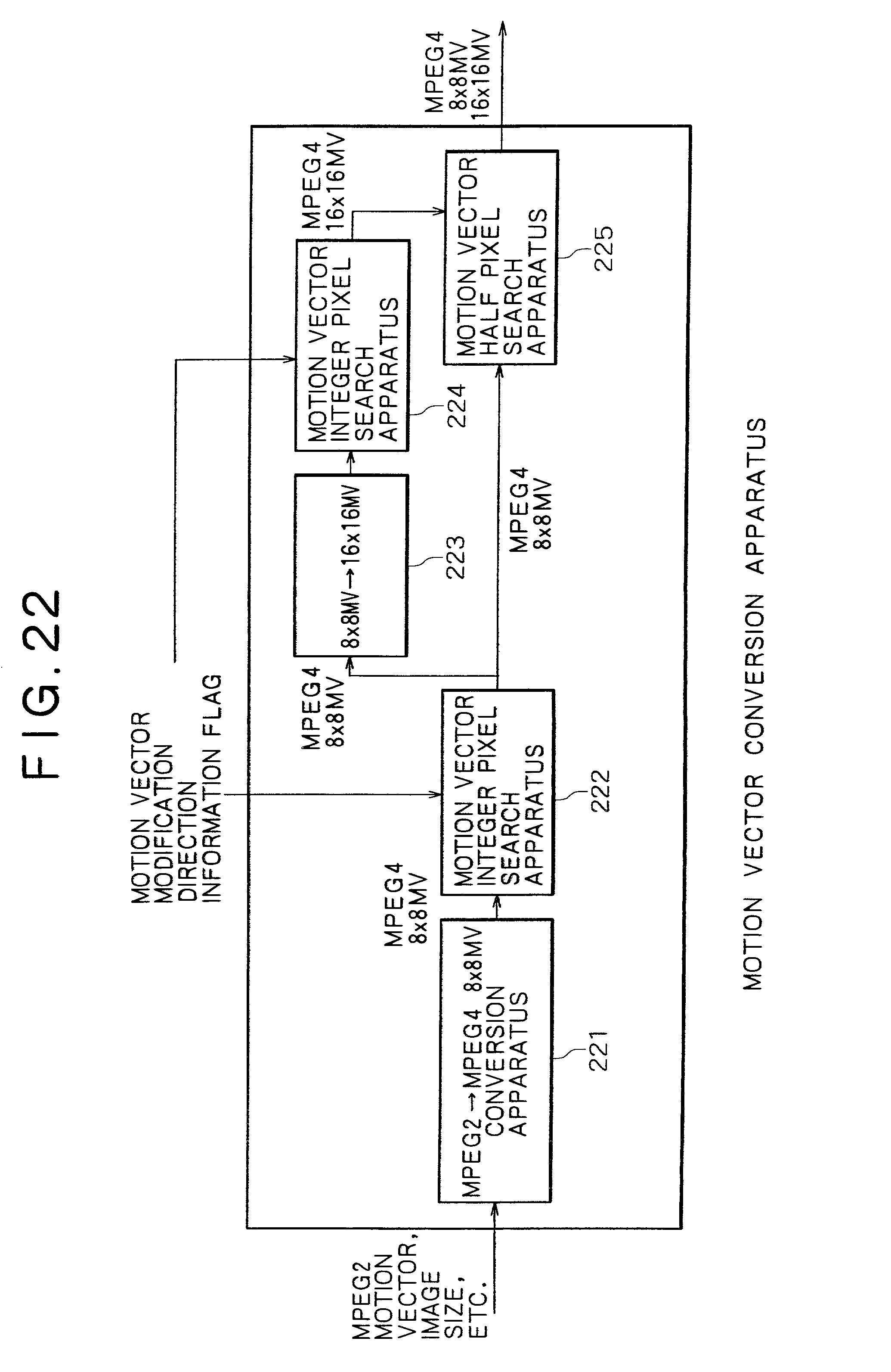 Patent Us20020118745 Motion Vector Conversion Method And Mpeg 2 Block Diagram Drawing