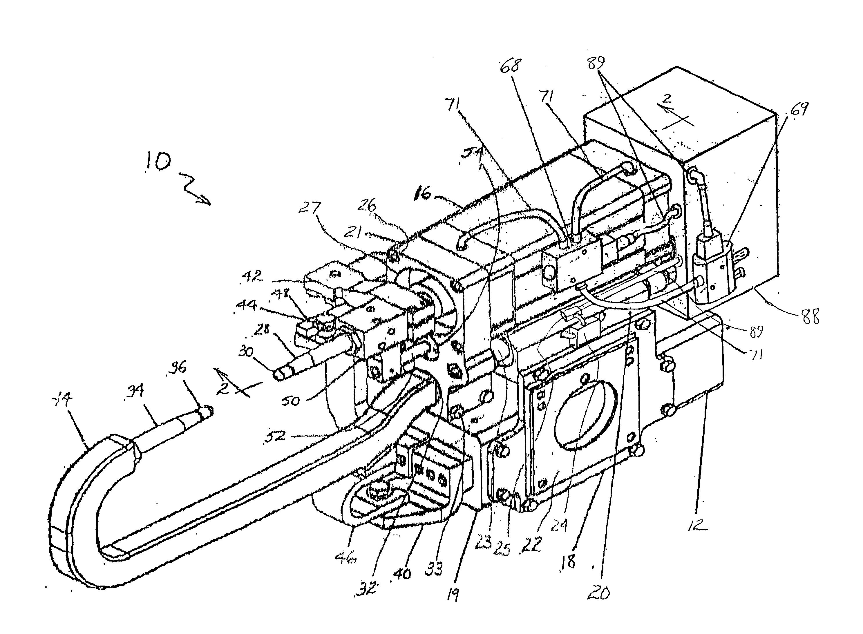 patent us20020125219 - servo-pneumatic modular weld gun