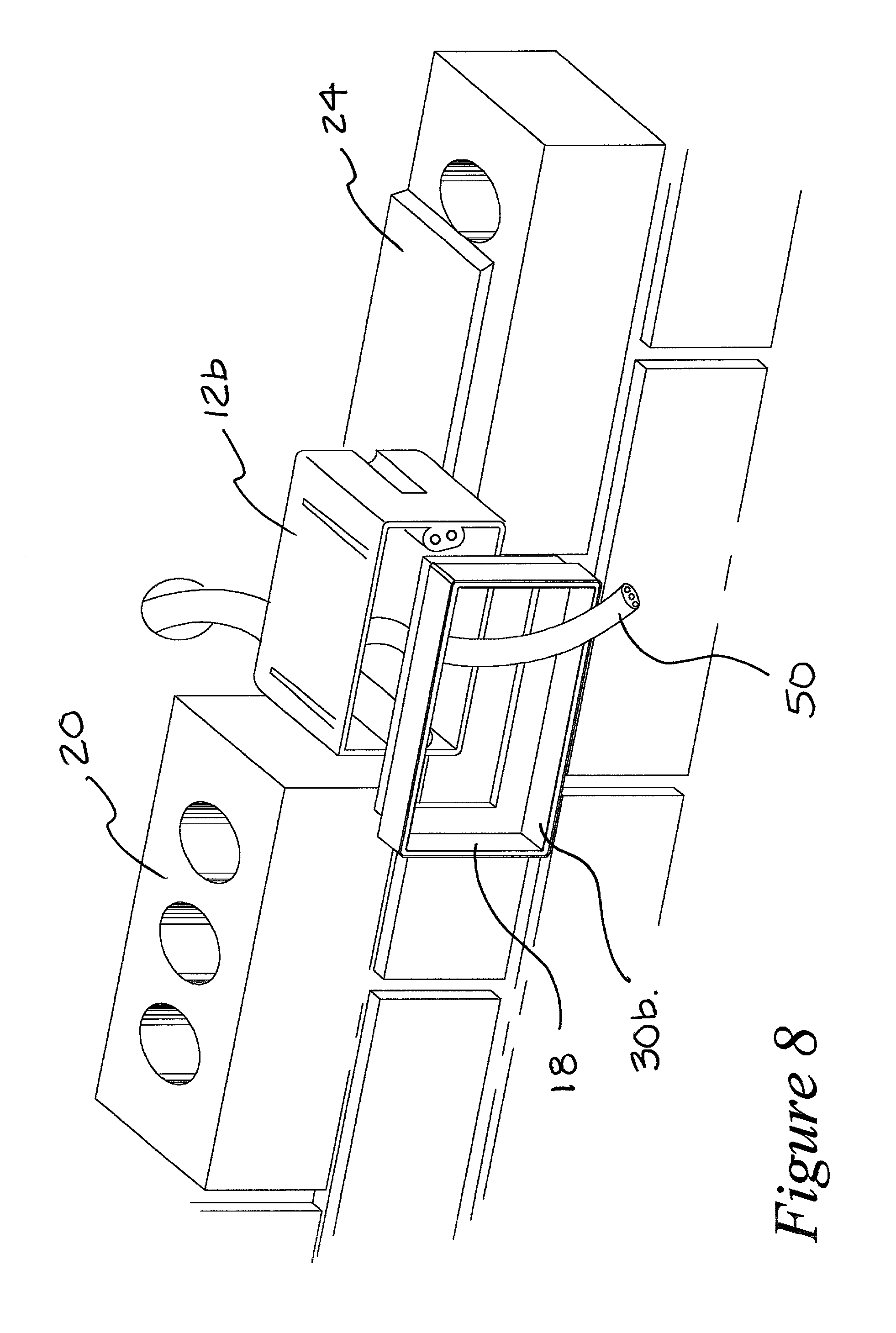 patent us20020125247 - electrical wiring box
