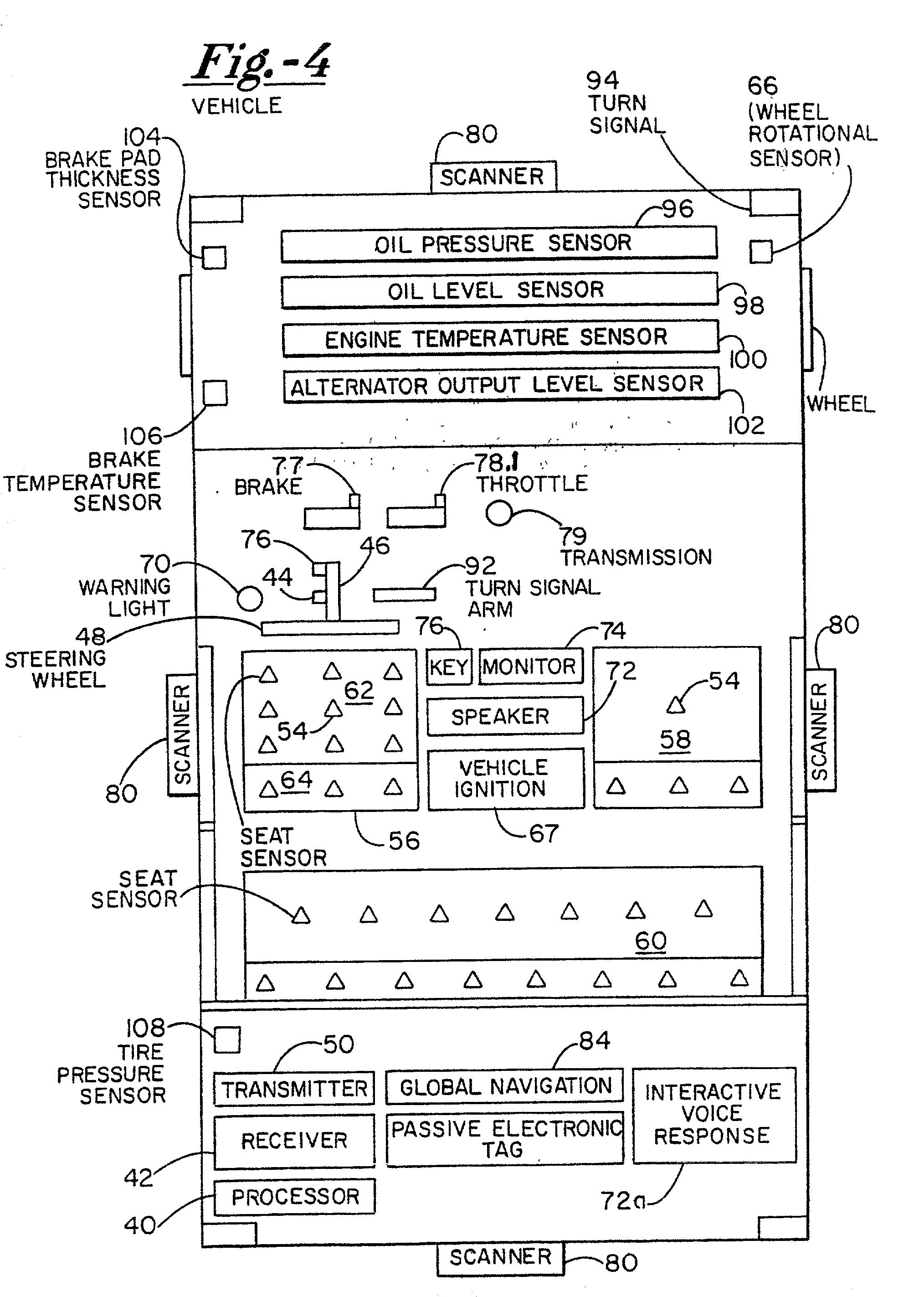 patent us20020126022 - emergency flashing light mechanism