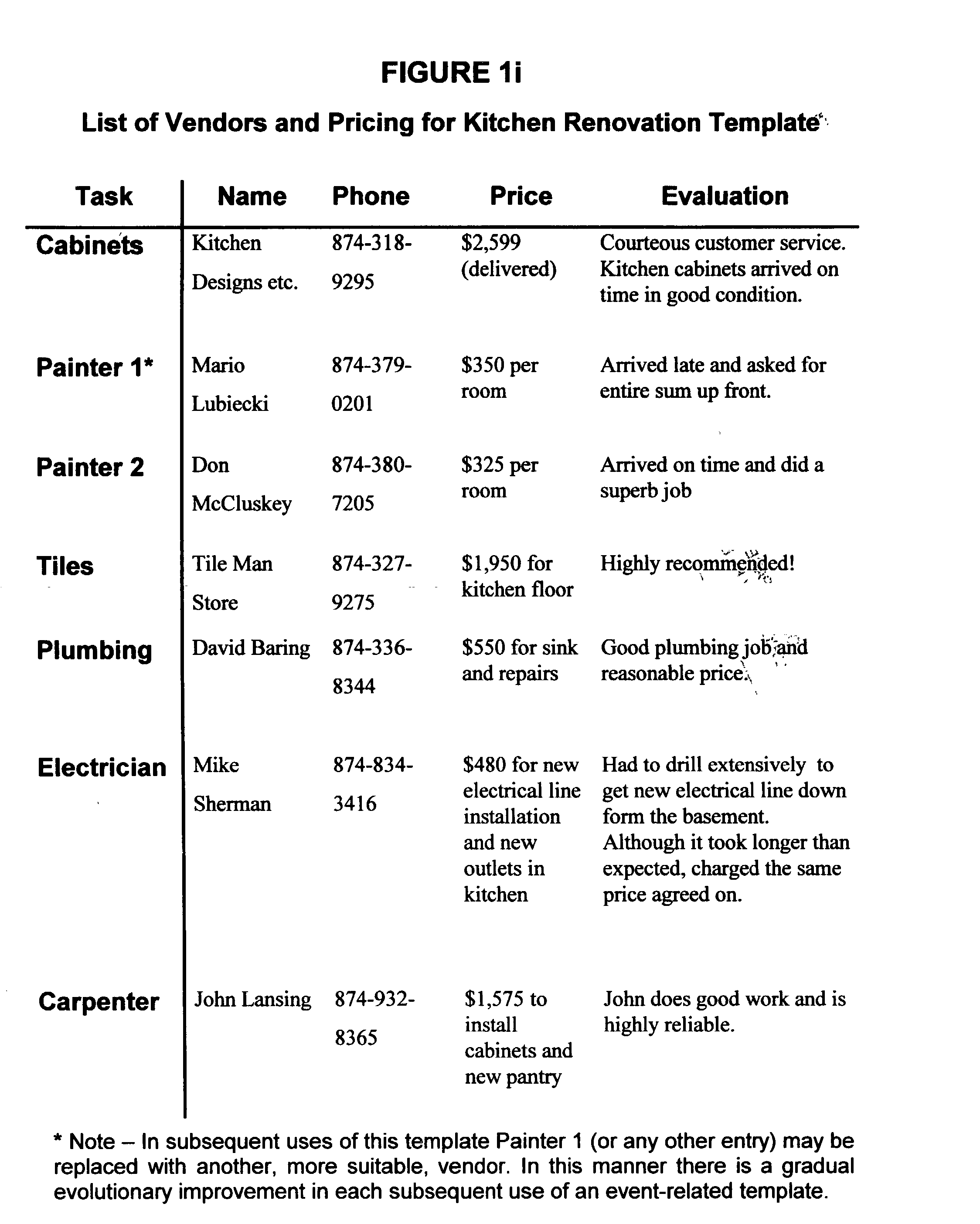 patent us interactive event planning and payment patent drawing