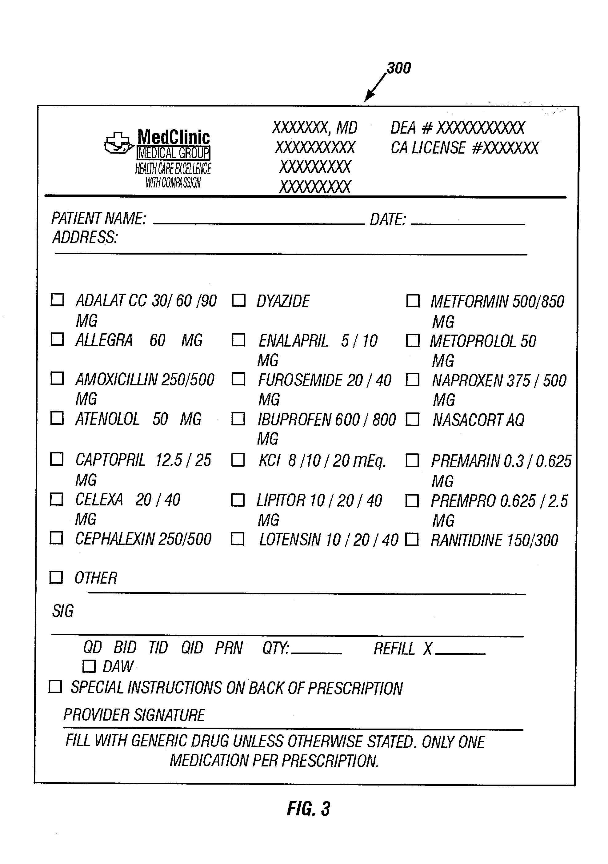 dr prescription pads